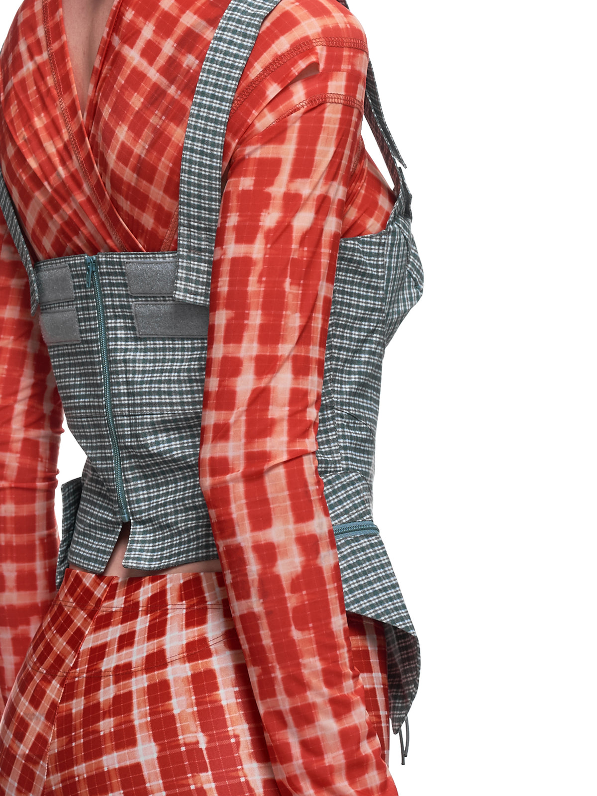 Tactical Bustier (TB0BLUC-BLUE-CHECK)