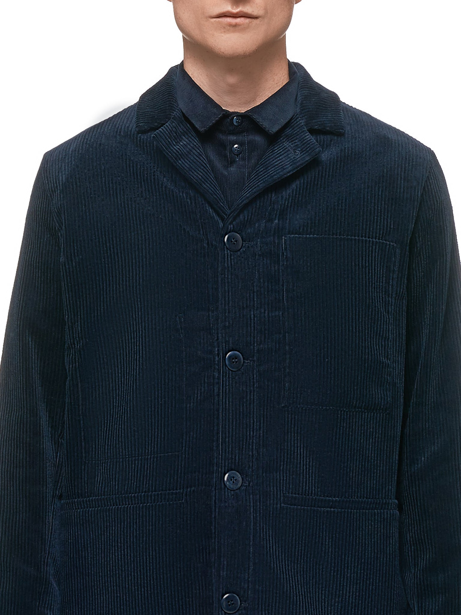 The Carpenter Jacket (THE-CARPENTER-JKT-CORD-INK)