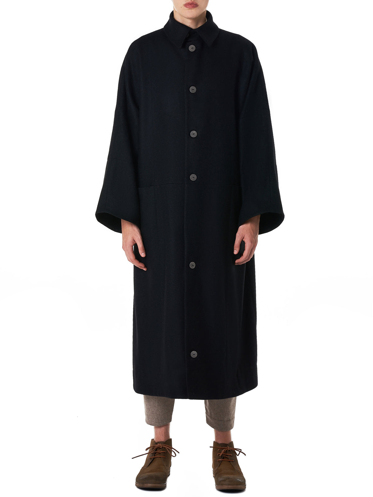 Toogood 'The Doorman' Coat - Hlorenzo Front