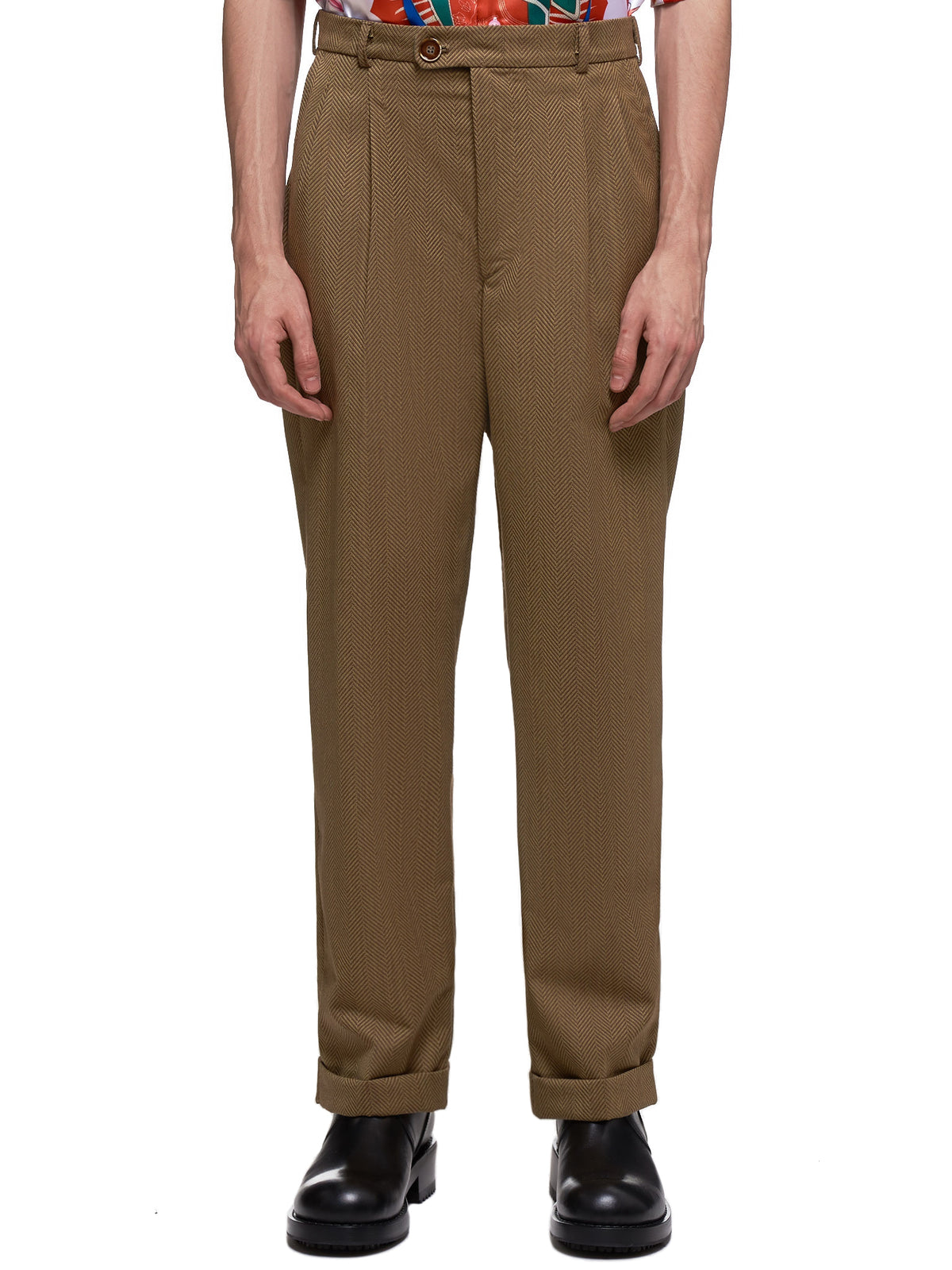 Fancy Sport Trouser (THE-FANCY-09-K-01-BROWN)