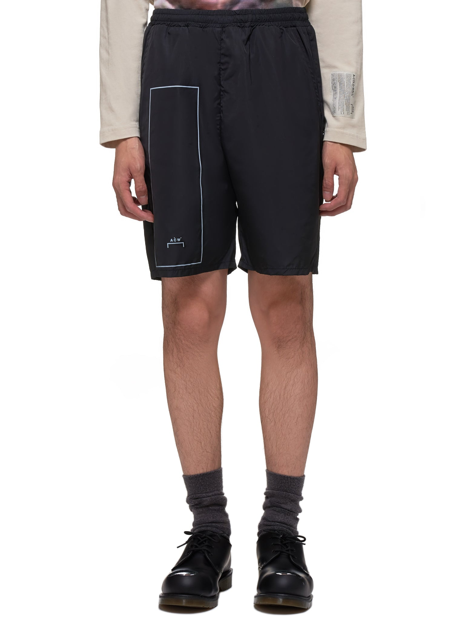 A Cold Wall Shorts - Hlorenzo Front