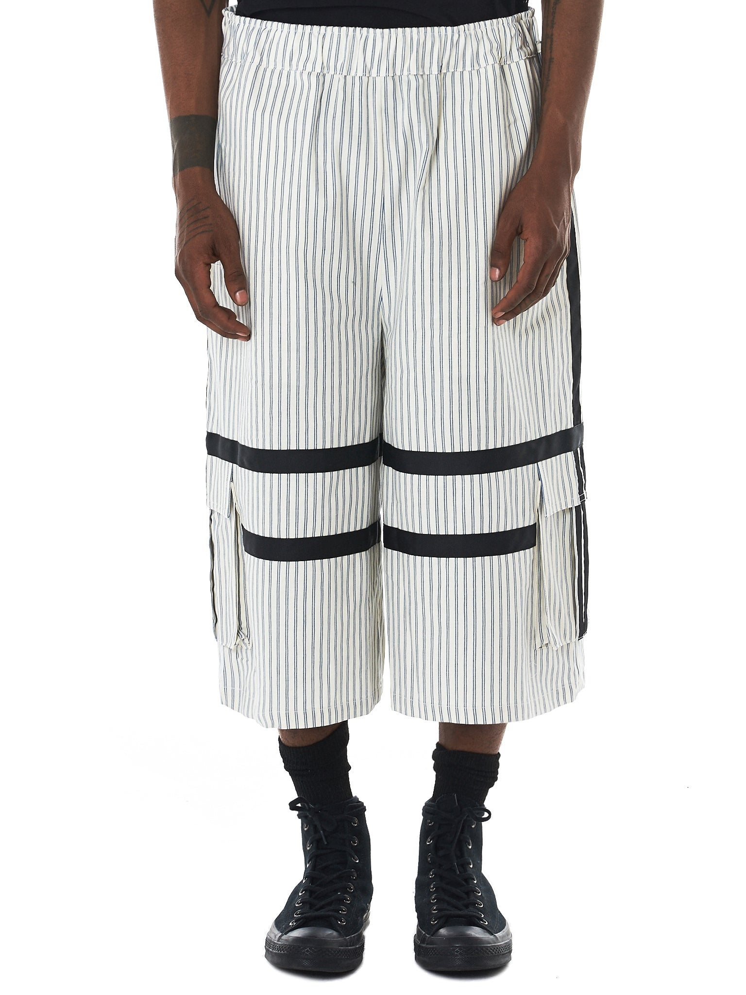 Astrid Andersen Striped Shorts - Hlorenzo Front
