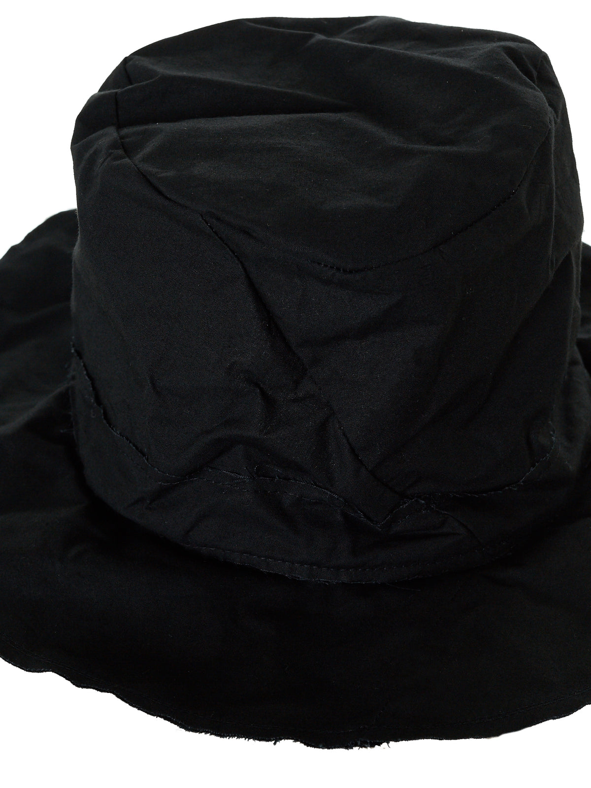 'Traveller' Waxed Hat (TRAVELLER-M-BIG-WXC-MB-BLACK)