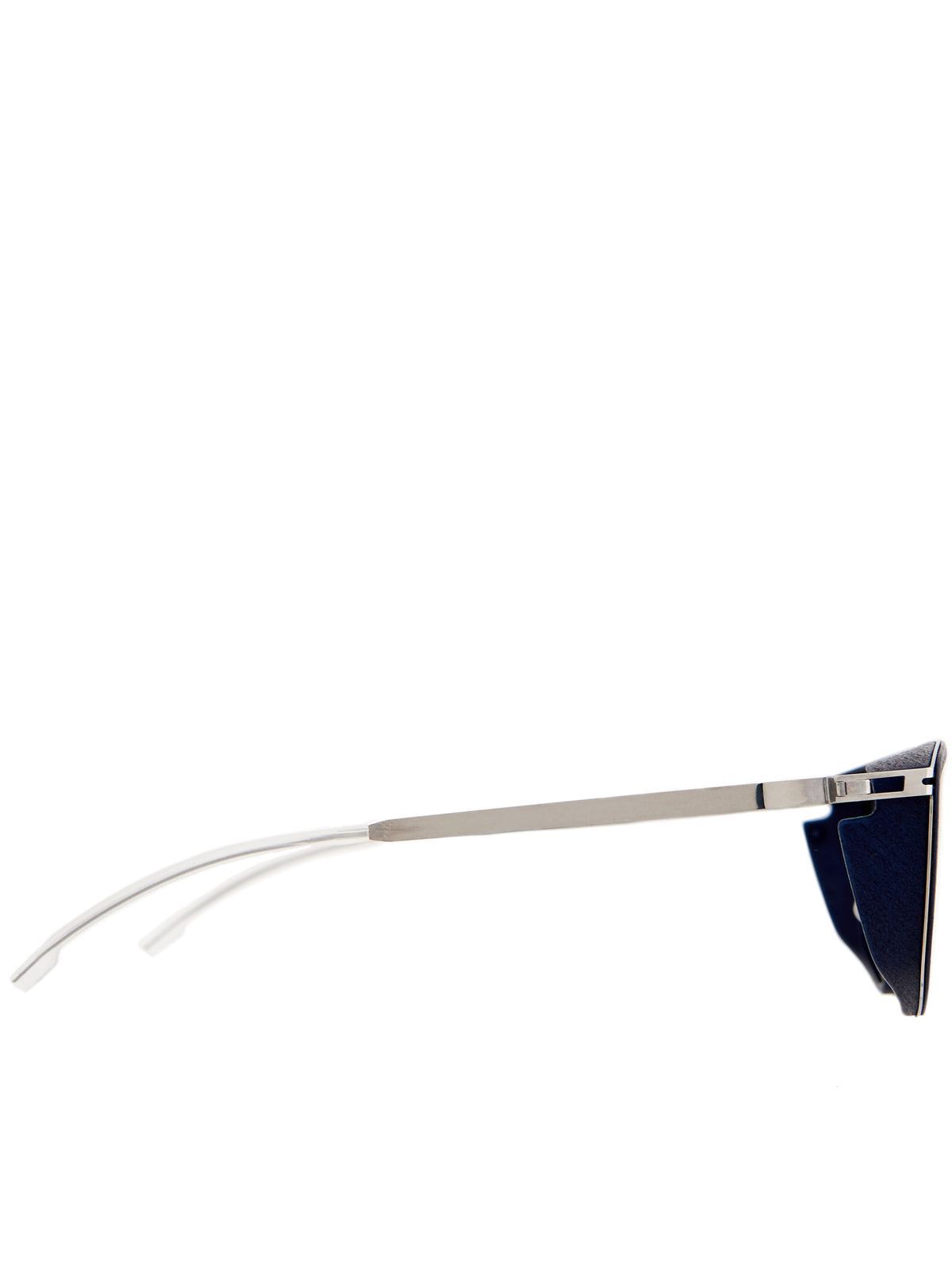 'Tribe' Sunglasses (TRIBE-NAVYBLUE-SHINYSILVER)