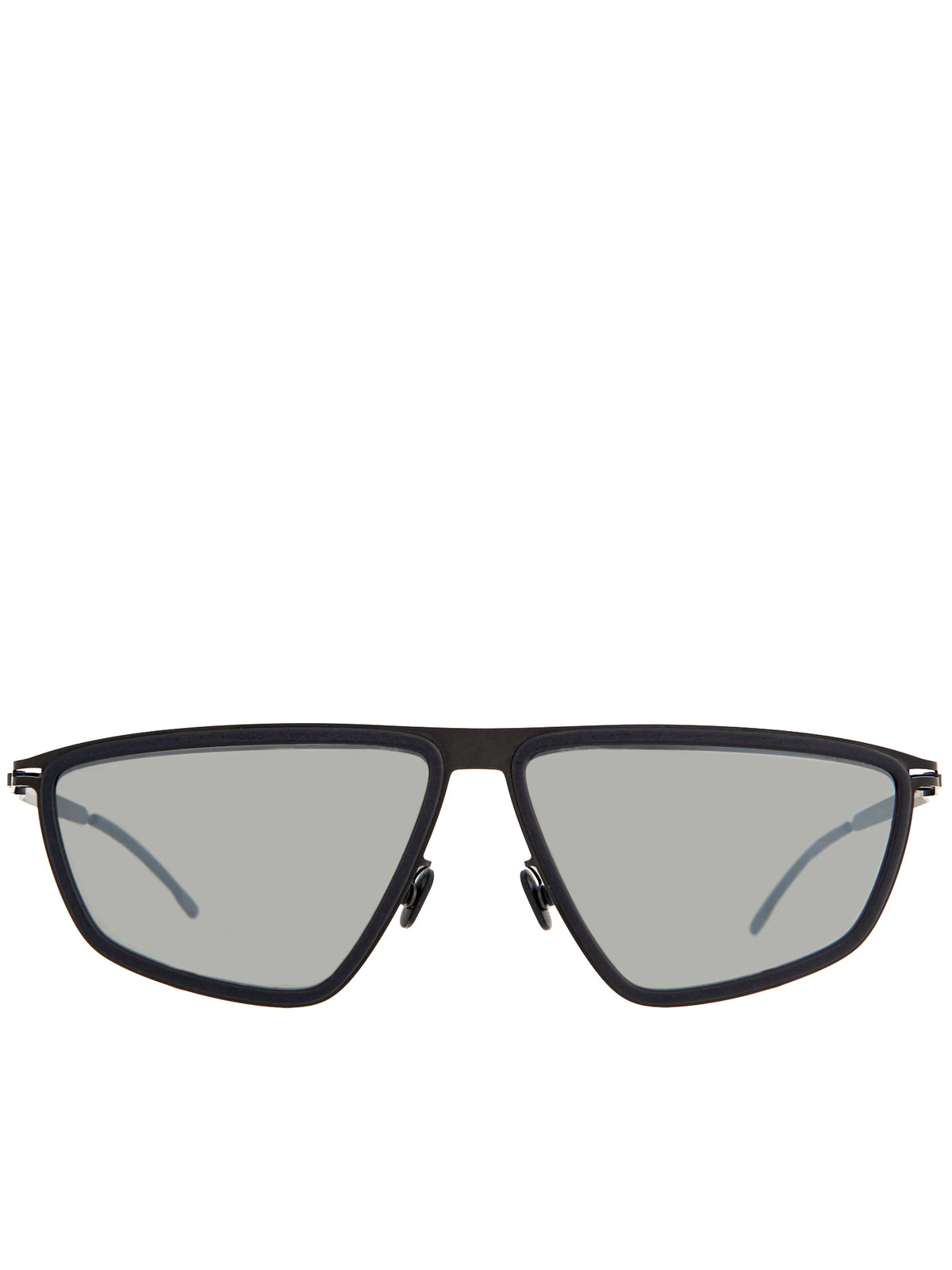 'Tribe' Sunglasses (TRIBE-PITCH-BLACK-MIRROR-BLACK)
