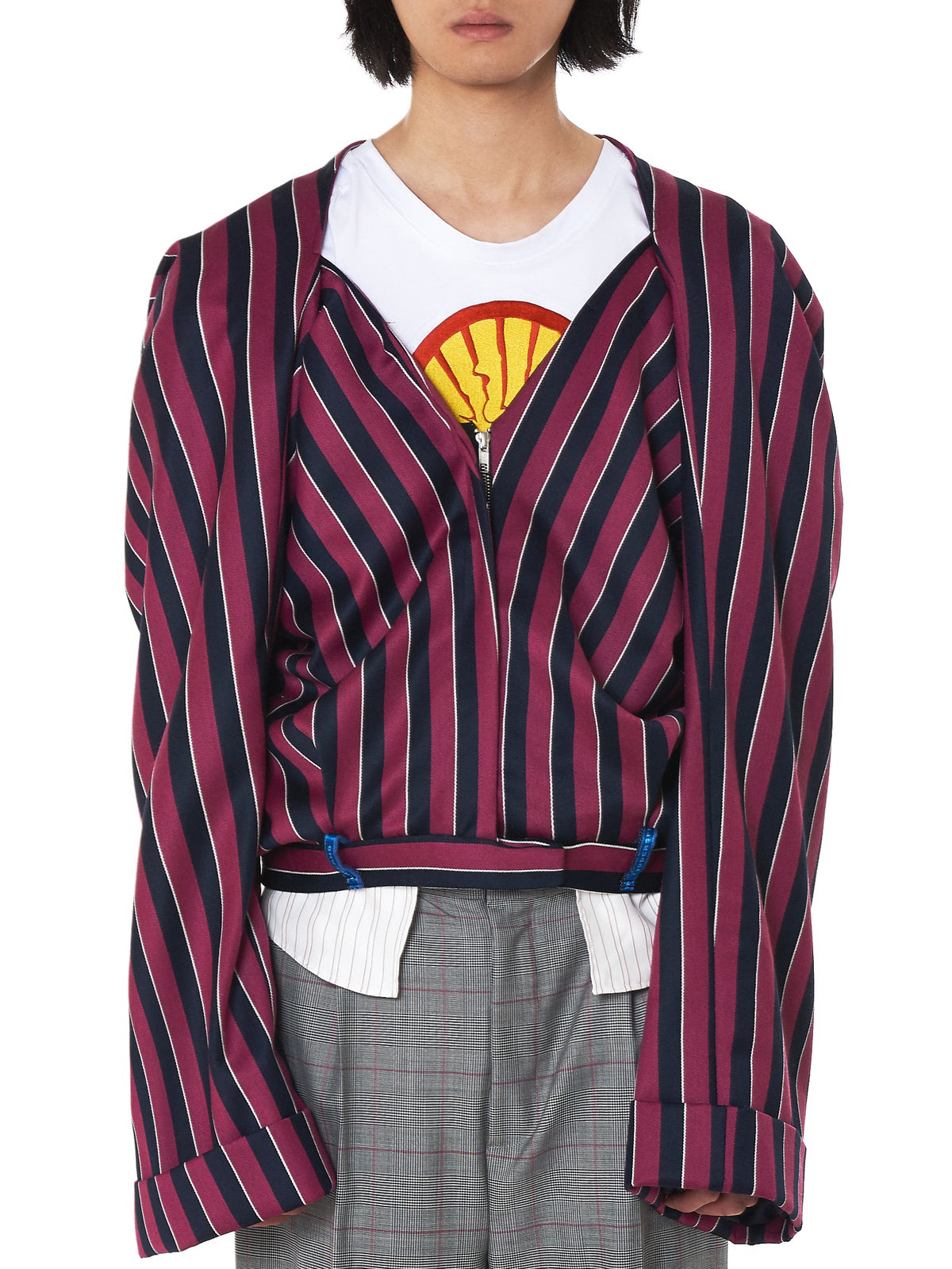 Striped 'Pant' Jacket (PAJCK01-TRSRSJCKT-STRIPED)