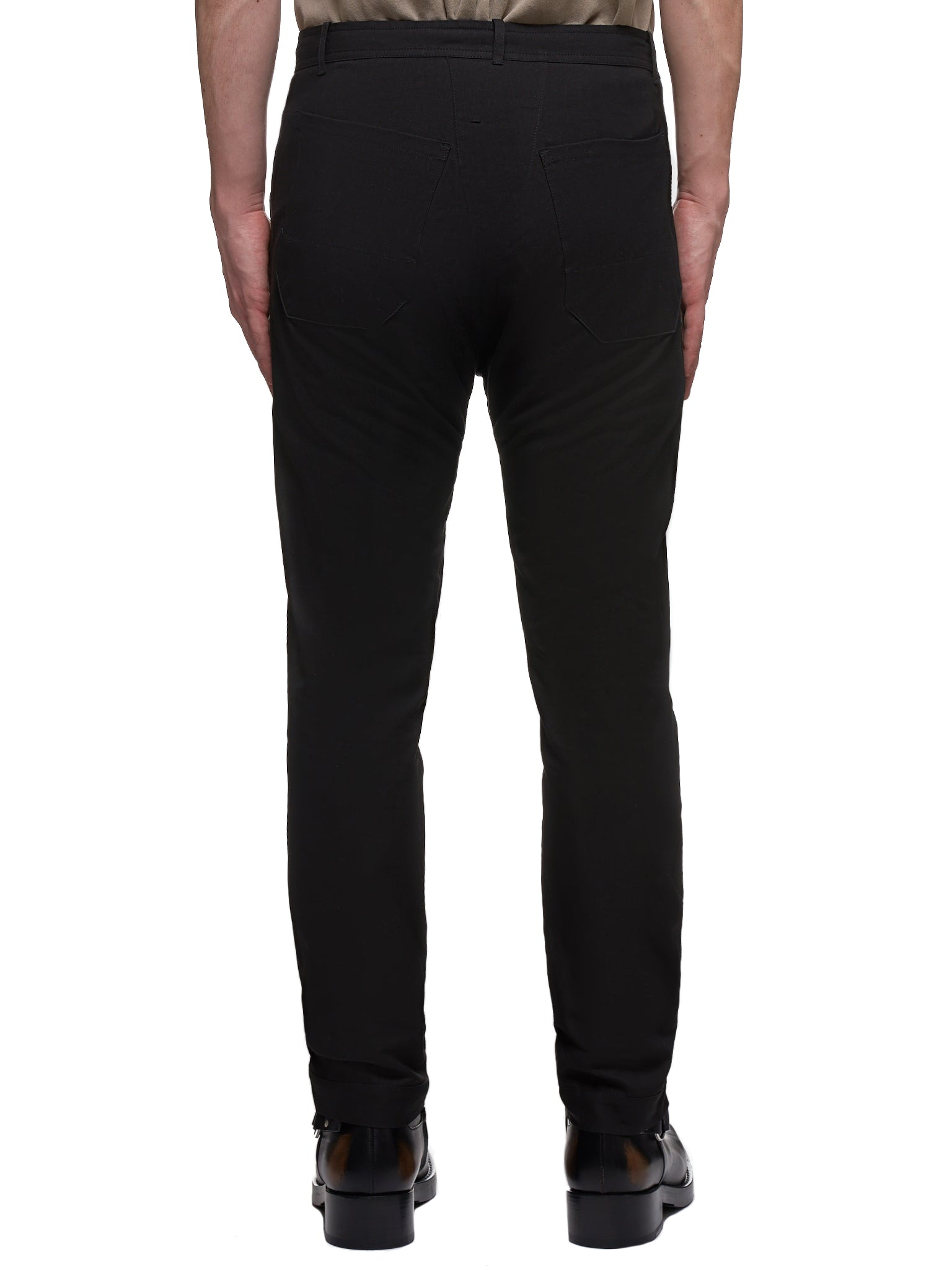 Twill Trousers (TROUSERS-49-TWILL-BLACK)