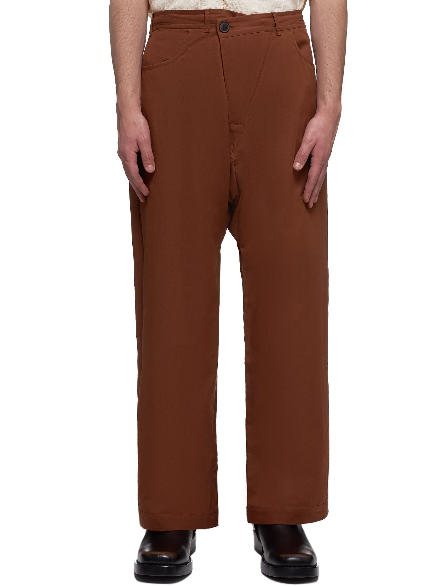 Rust Trousers (TROUSERS-53-TWILL-RUST)