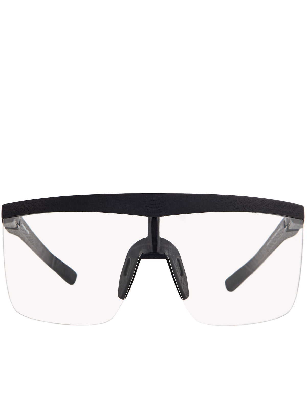 'Trust' Sunglasses (TRUST-MD1-PITCH-BLACK-CLEAR)