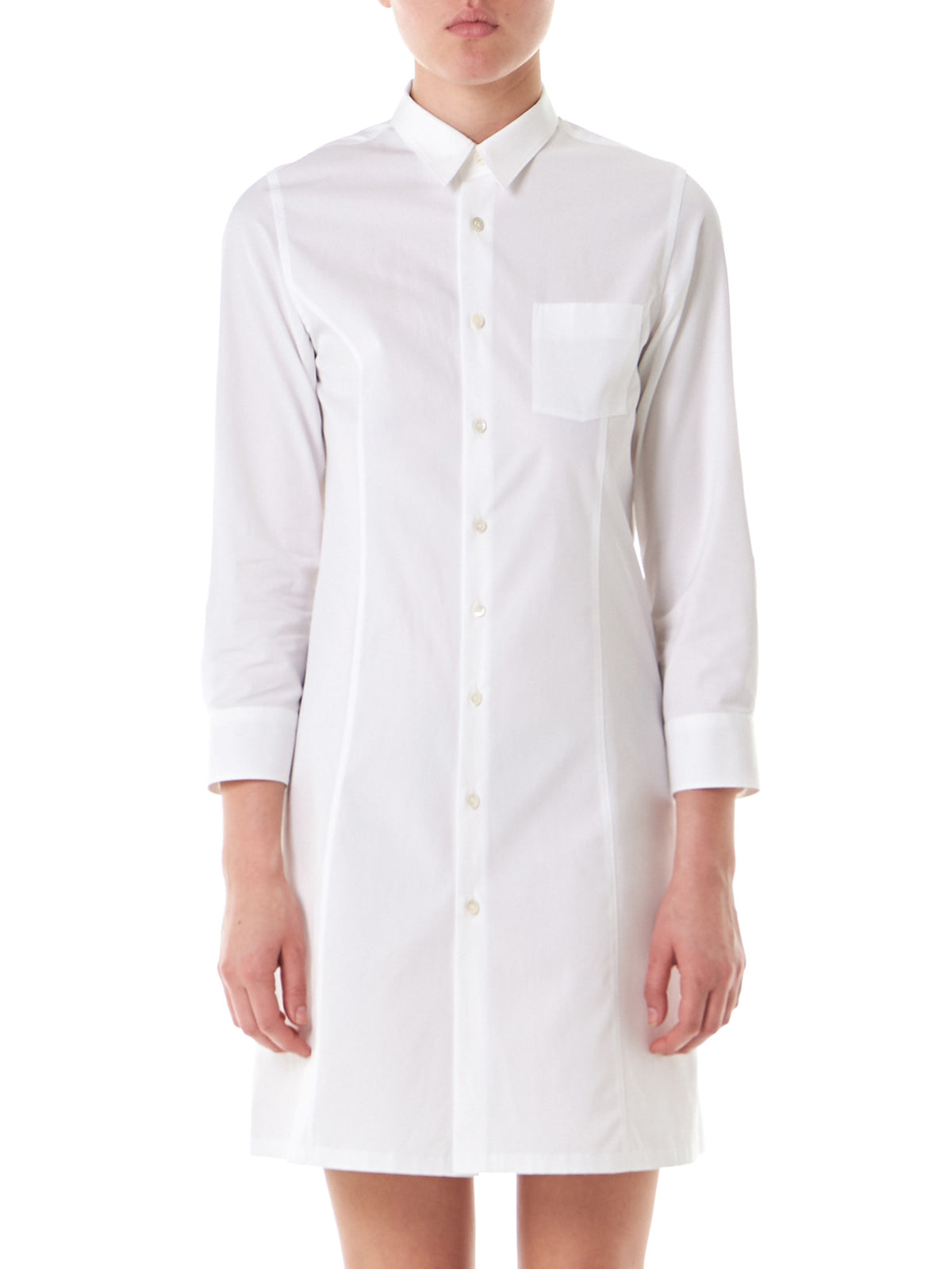 Elongated Button-Down (TS-O003-051-2) - H. Lorenzo