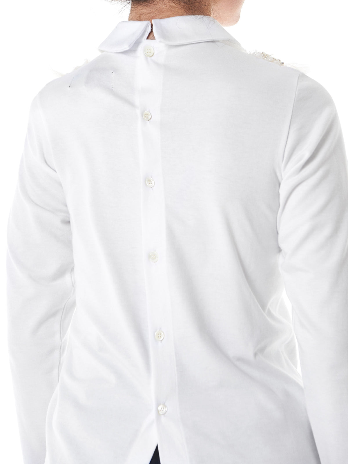 Corsage Long-Sleeve Button-Down (TS-T204-051-3) - H. Lorenzo