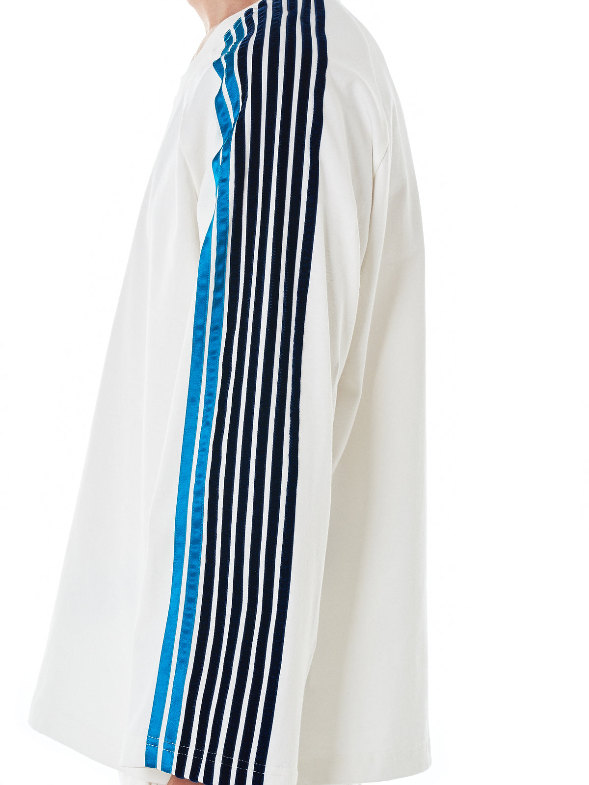 Striped Long-Sleeve Tee (TS134A-WHITE-NAVY-OB-STRIPES)