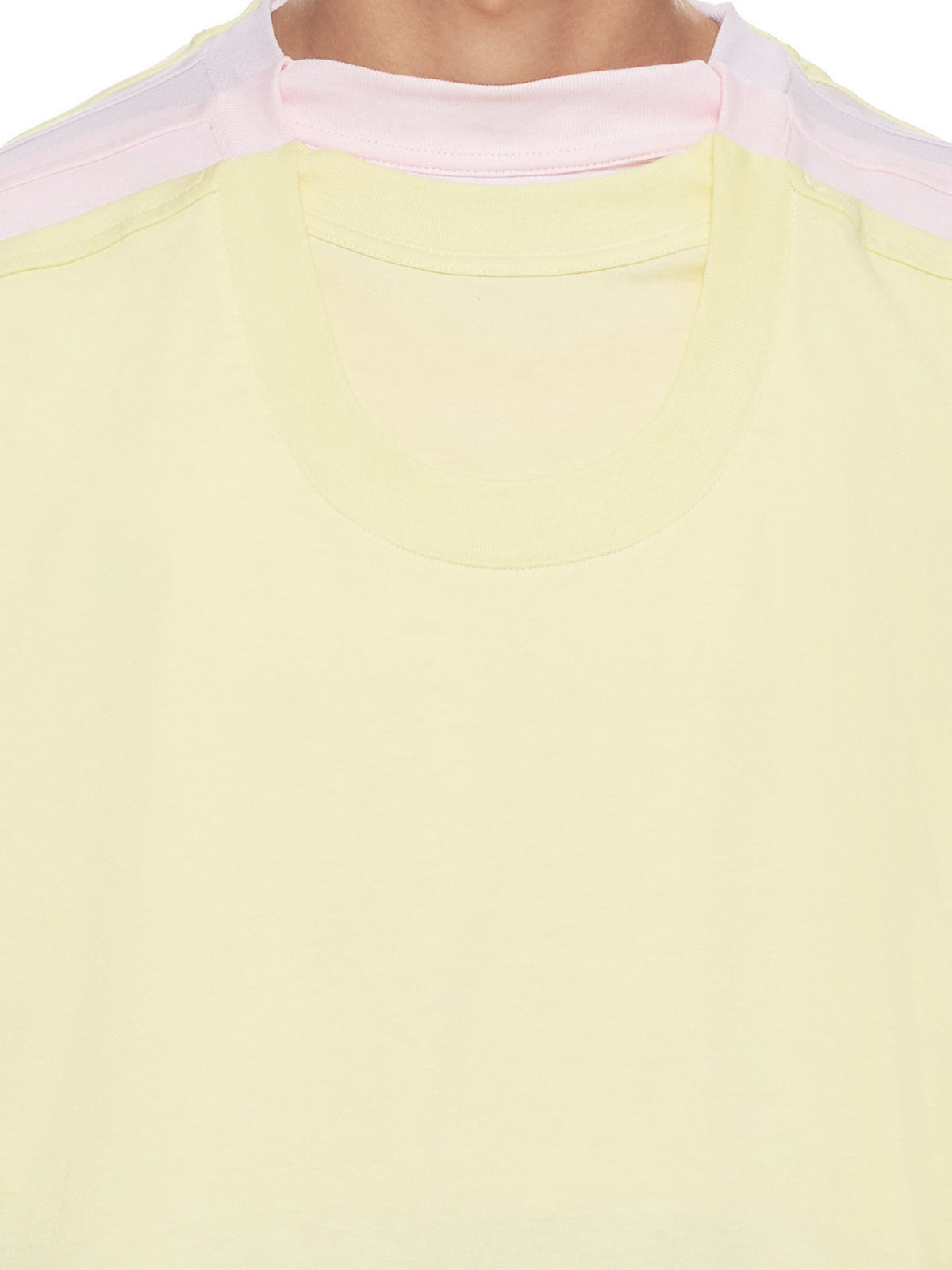 Four Layer T-Shirt (TS25-S16-JF31-LIGHT-YELLOW)