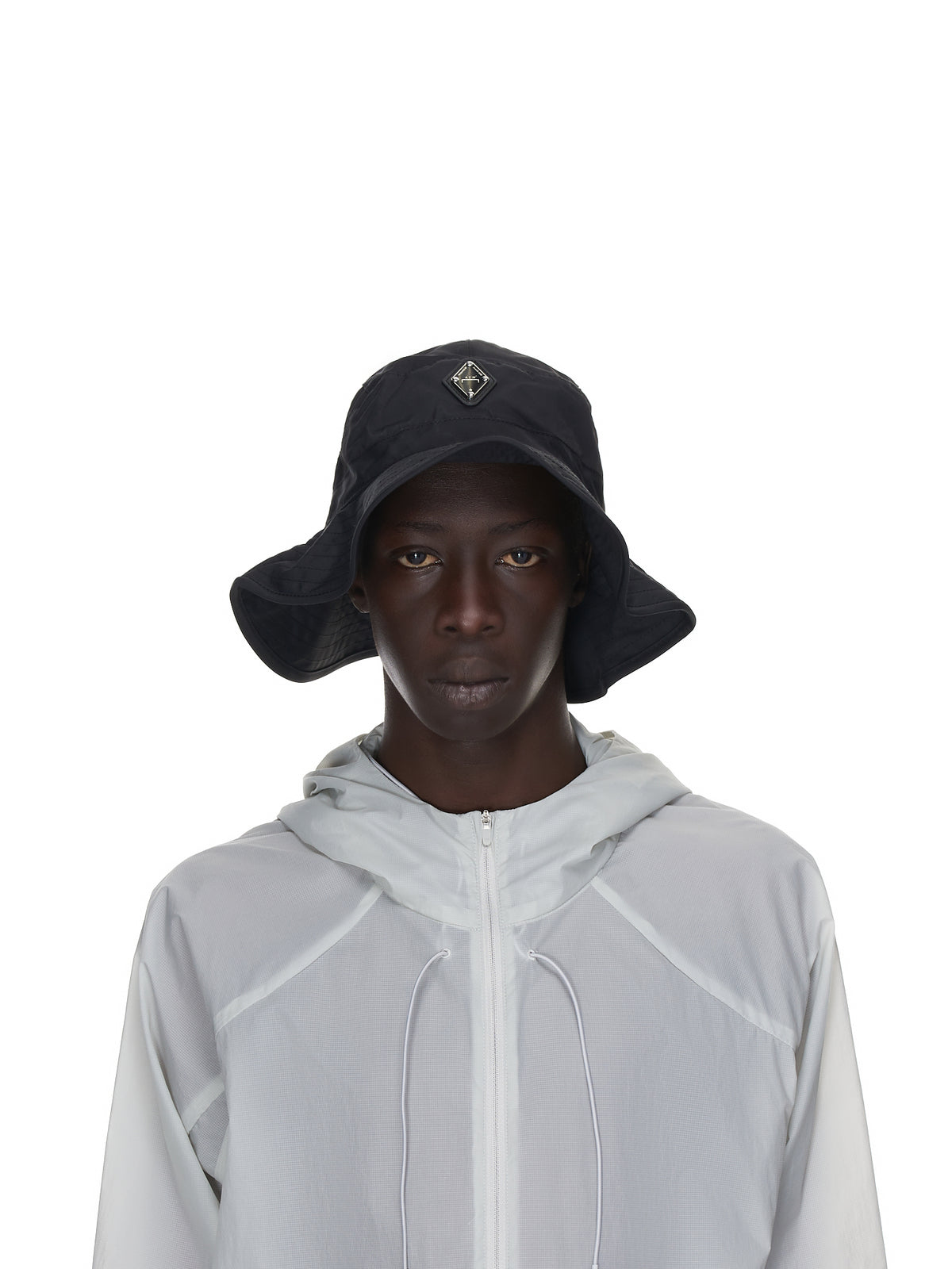 Working Nylon Bucket Hat (UA069-BLACK)