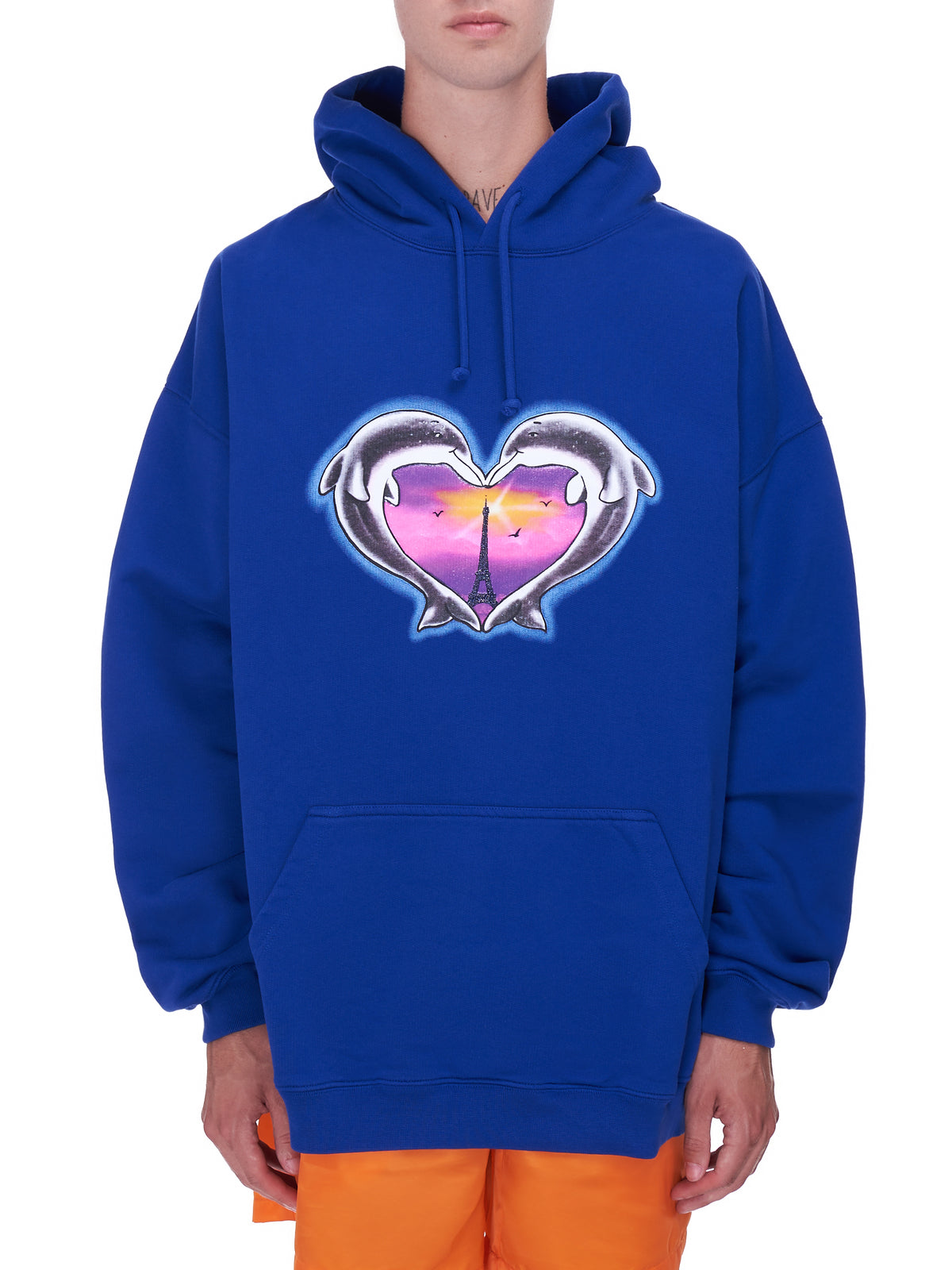 Dolphin Graphic Hoodie (UA52TR790N-ROYAL-BLUE)