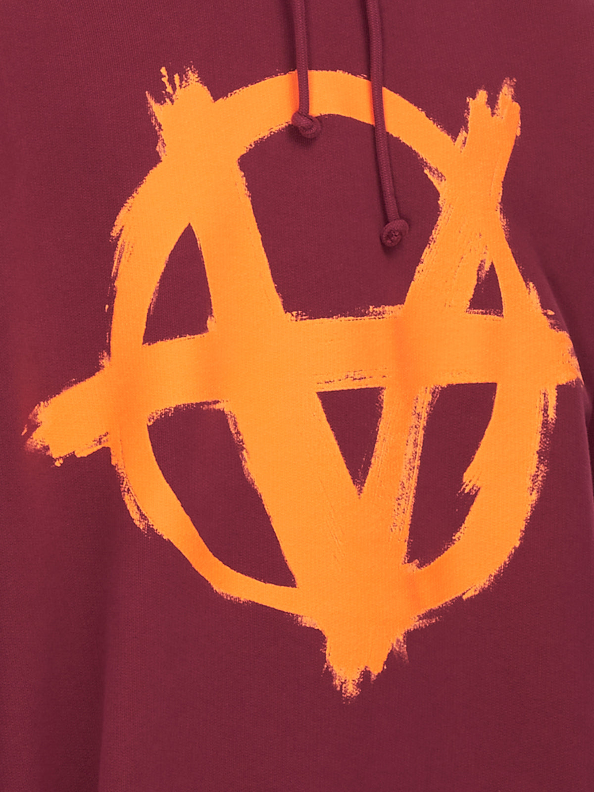 Anarchy Logo Sweatshirt (UA52TR820R-BORDEAUX-ORANGE)