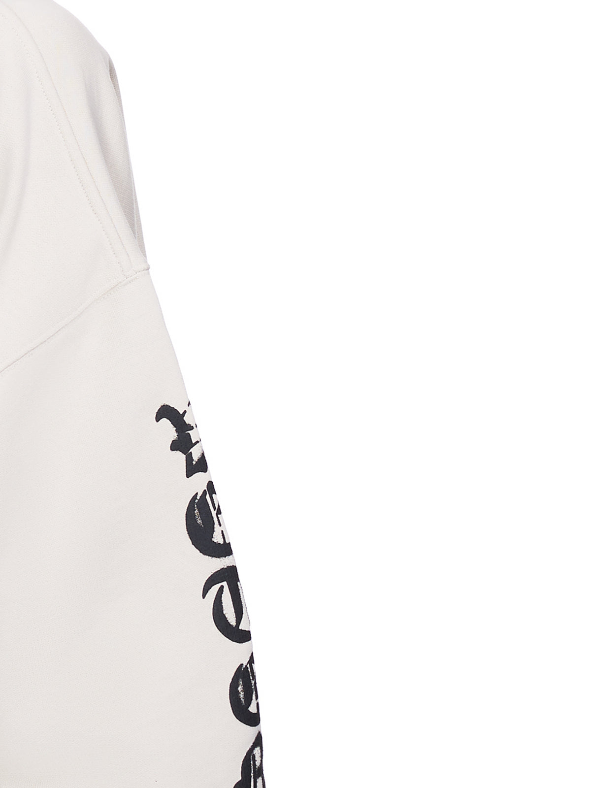 Anarchy Logo Sweatshirt (UA52TR820W-OFF-WHITE-BLACK)