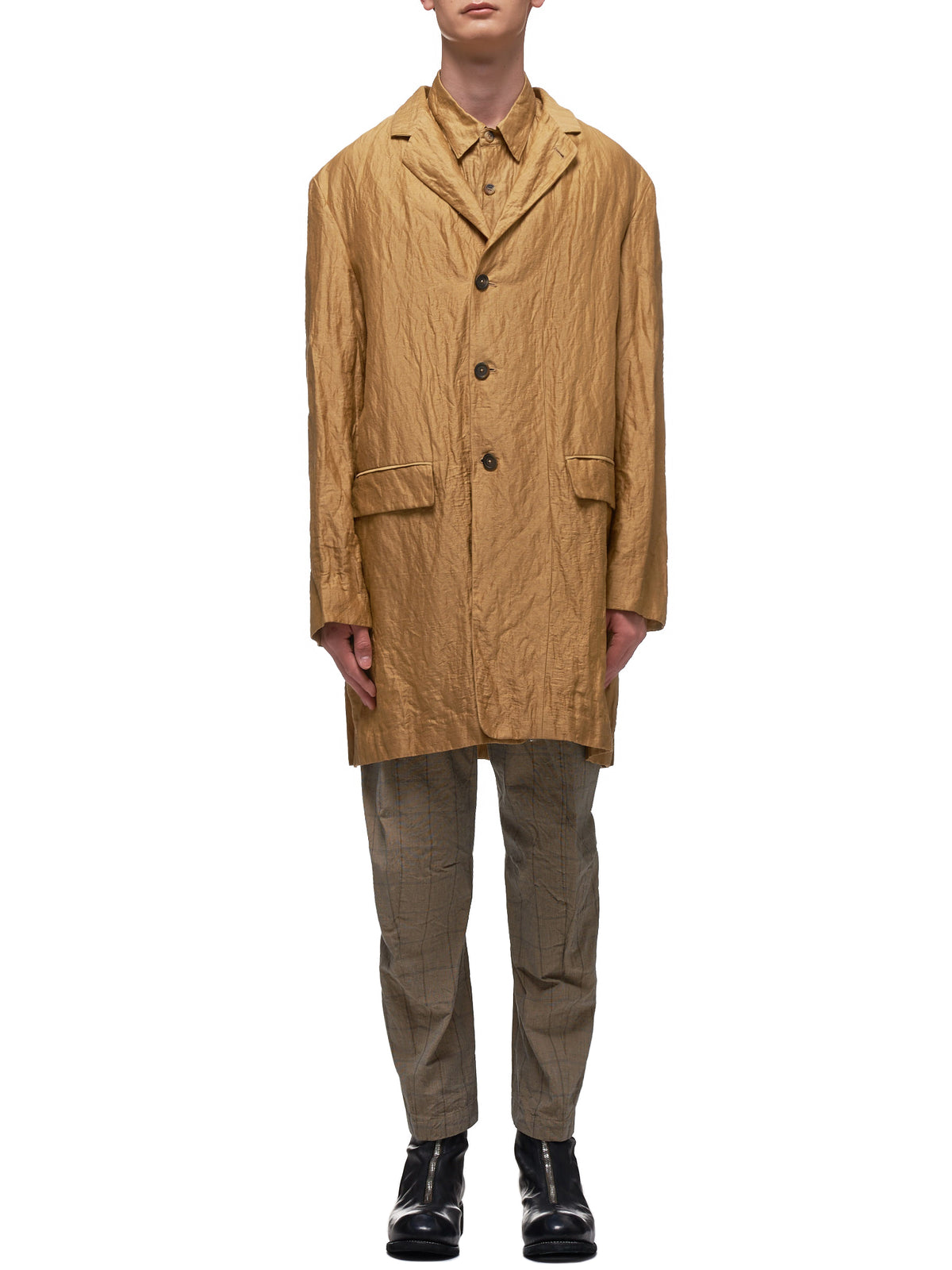 Forme D'Expression Coat | H.Lorenzo - Front