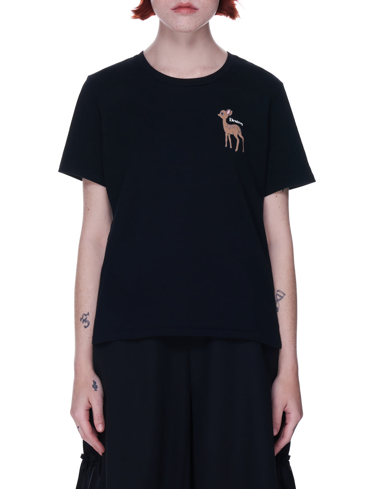 Fawn Graphic Tee (UC1A2806-BLACK)