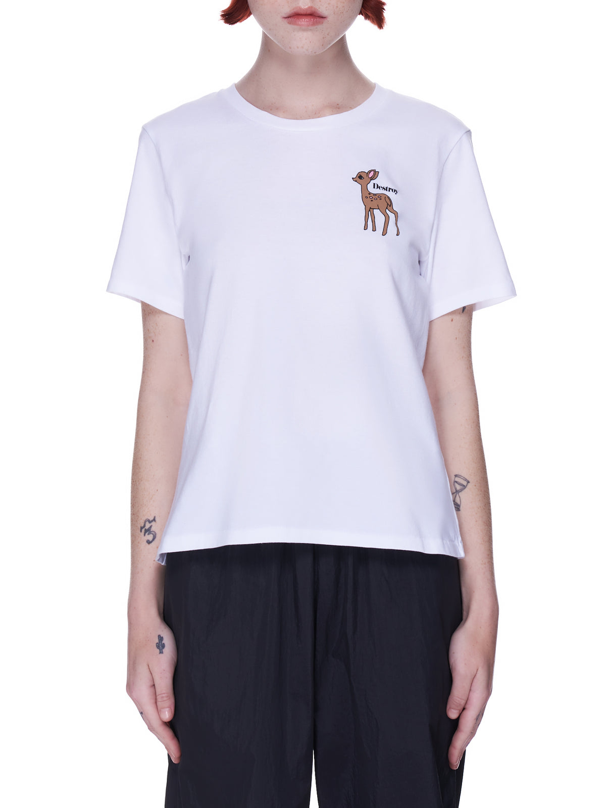 Fawn Graphic Tee (UC1A2806-WHITE)