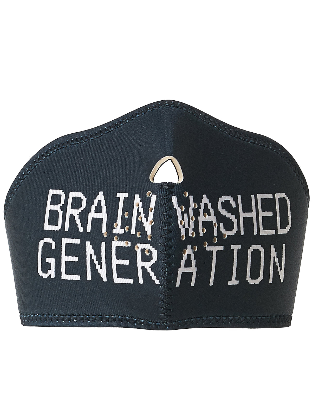 'Brain Washed' Padded Respirator (UCT4Z01-CHARCOAL)