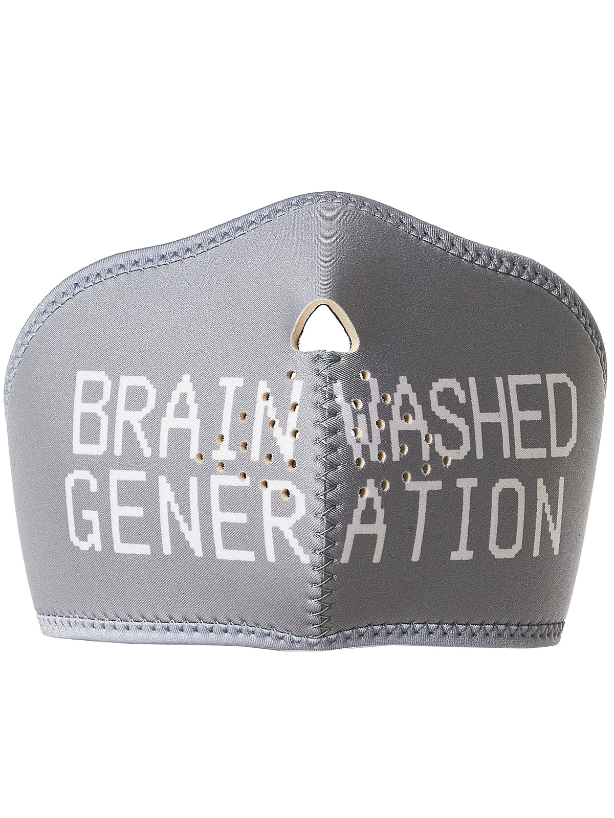 'Brain Washed' Padded Respirator (UCT4Z01-GRAY)