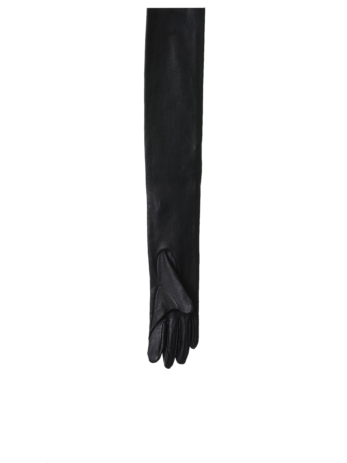 Leather Evening Gloves (UCT1G01-BLACK)