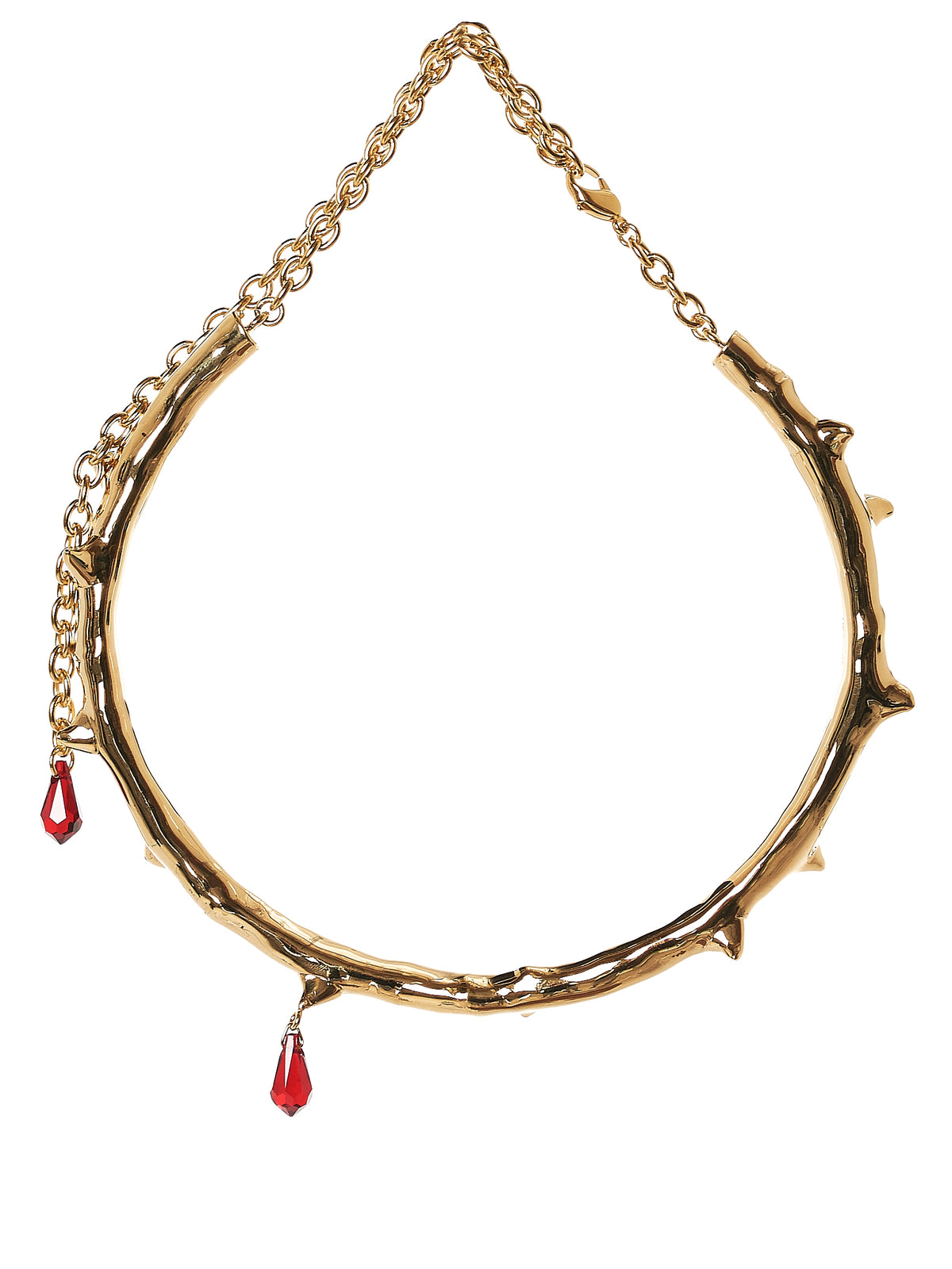 Chained Crystal Bracelet (UCU1N02-A-GOLD)