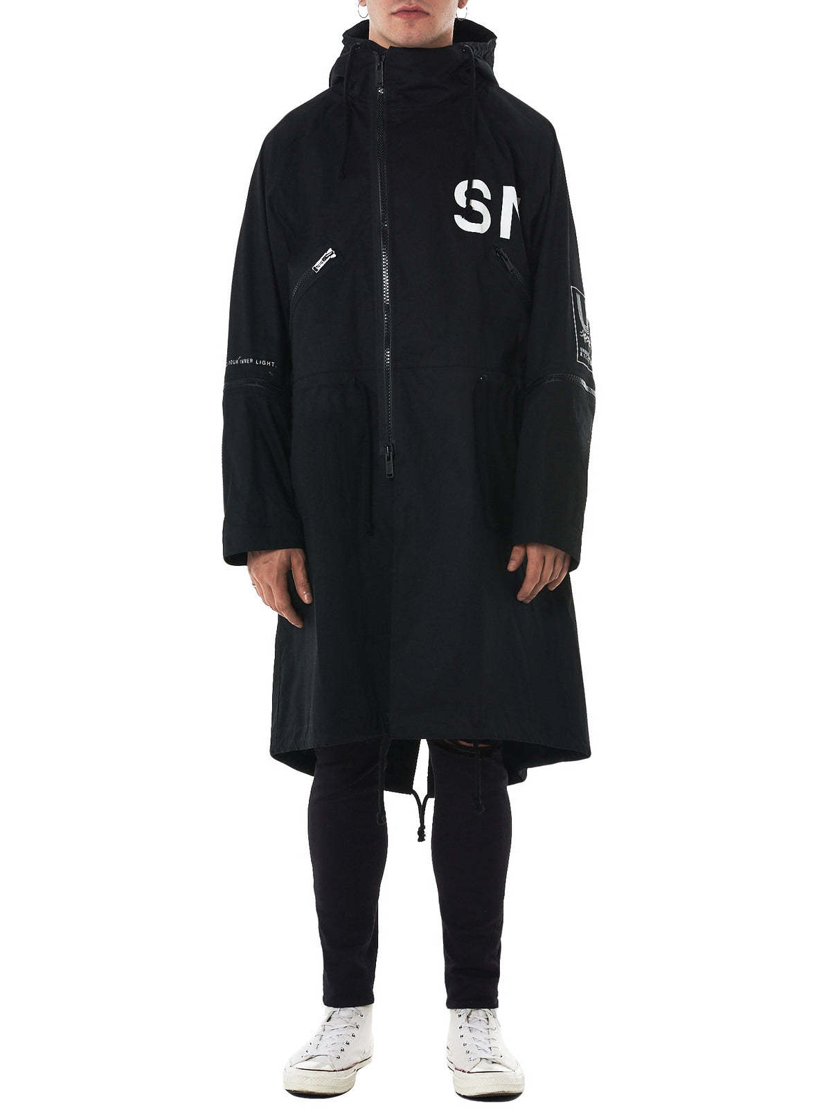 Undercover Hooded Parka - Hlorenzo Front