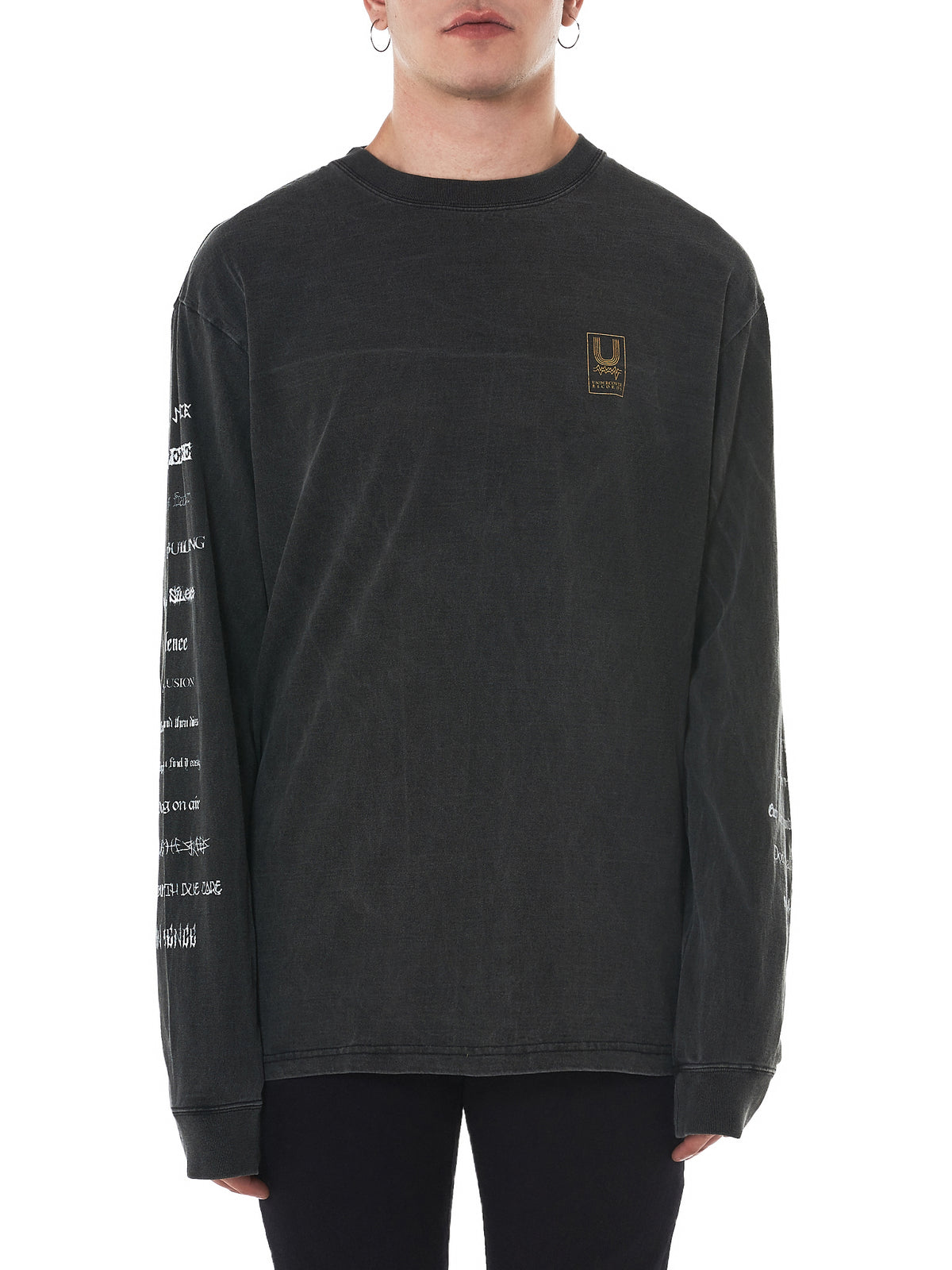 Undercover Long-Sleeve Tee - Hlorenzo Front