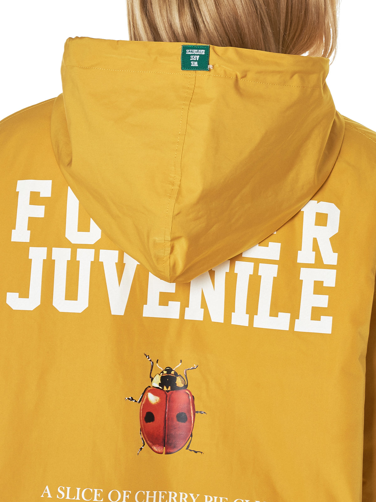Fur-Lined Hooded Parka (UCV1313-1-YELLOW)