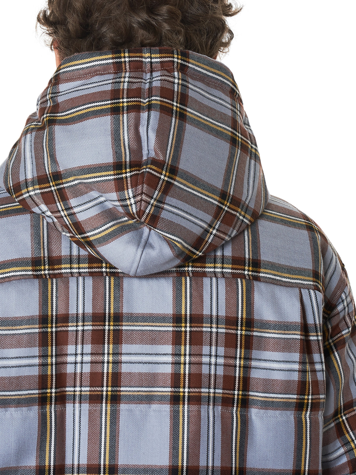 Undercover Check Jacket - Hlorenzo Detail 2