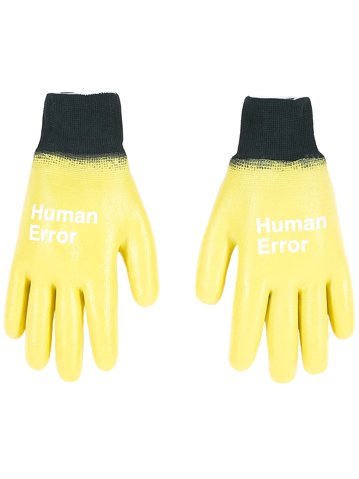 Rubber-Coated Gloves (UCV4G01-1-YELLOW)