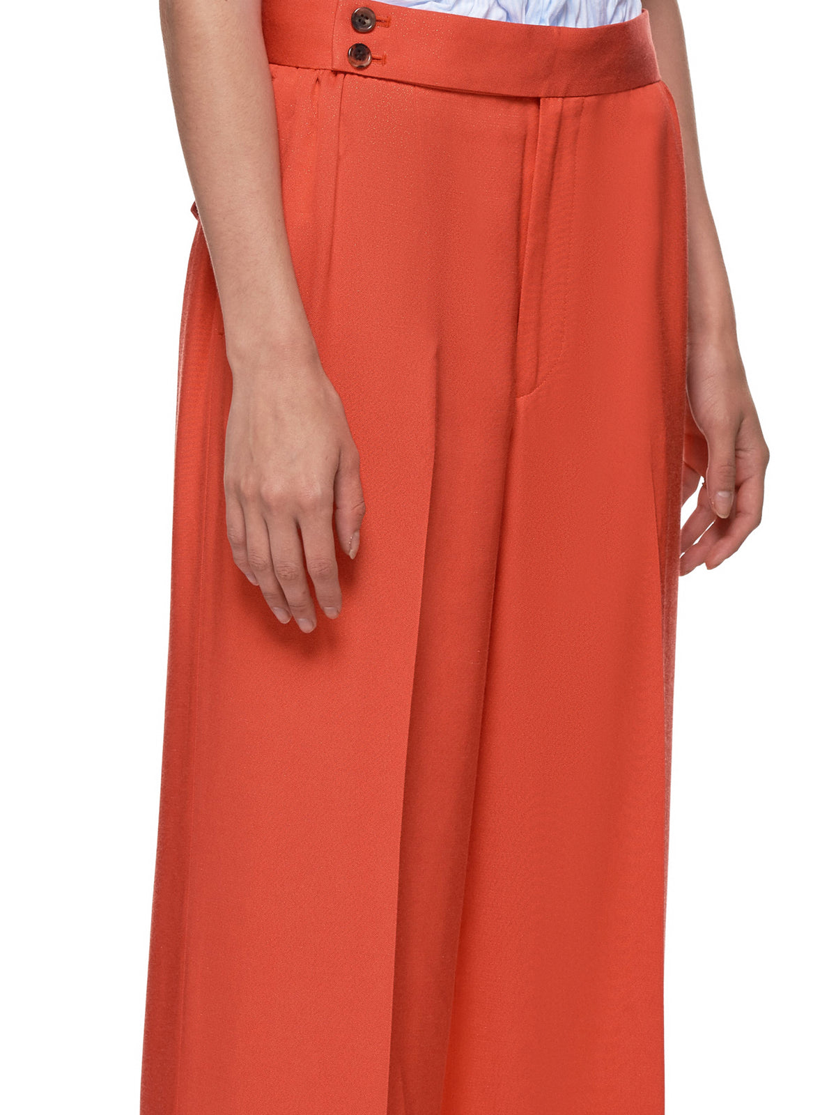 Cuffed Trousers (UCW1502-1-ORANGE)