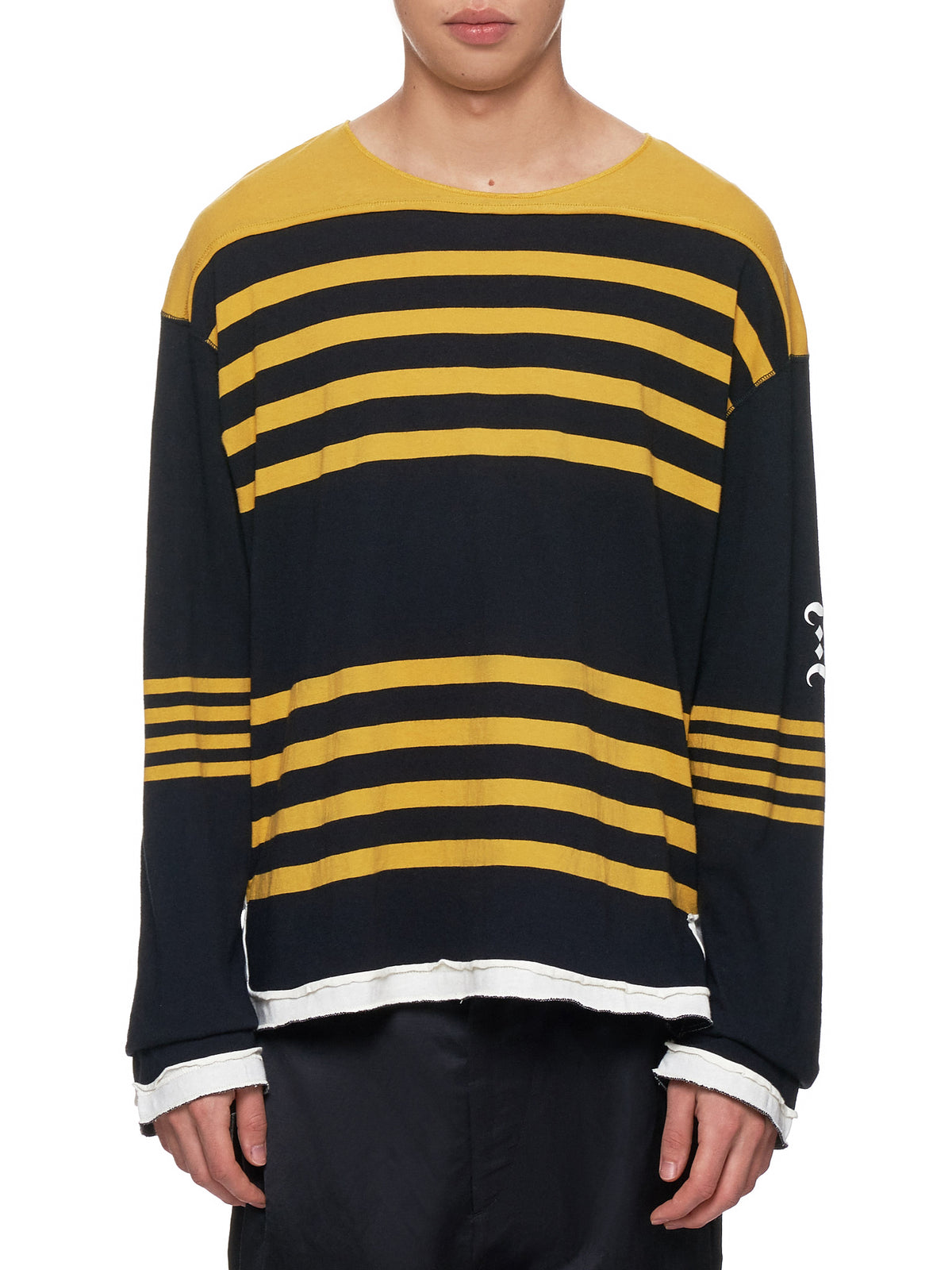 Undercover Stripe Sweater - Hlorenzo Front