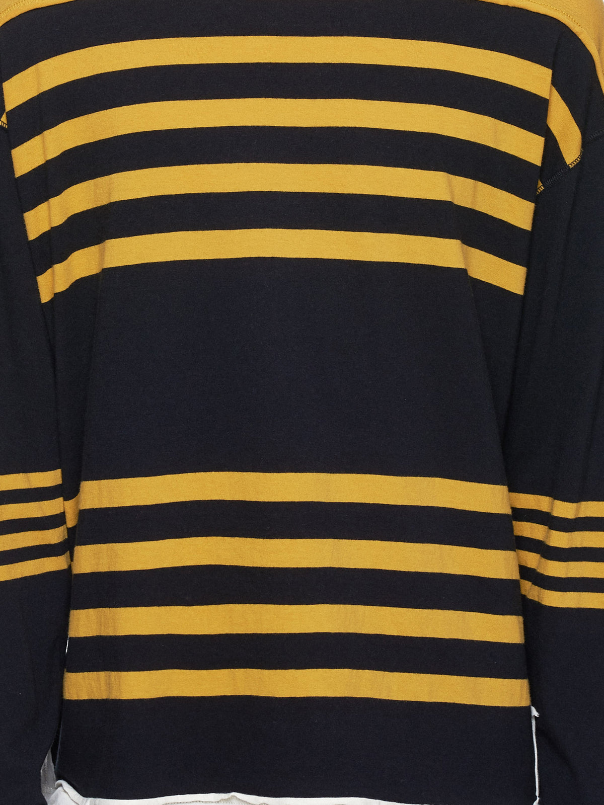 Undercover Stripe Sweater - Hlorenzo Detail 2