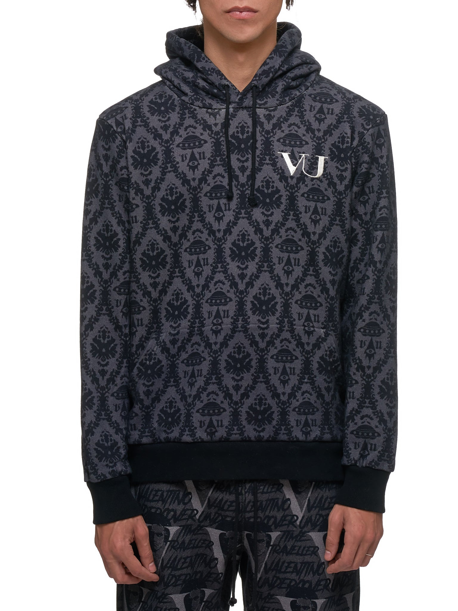 Undercover x Valentino hoodie - Hlorenzo Front