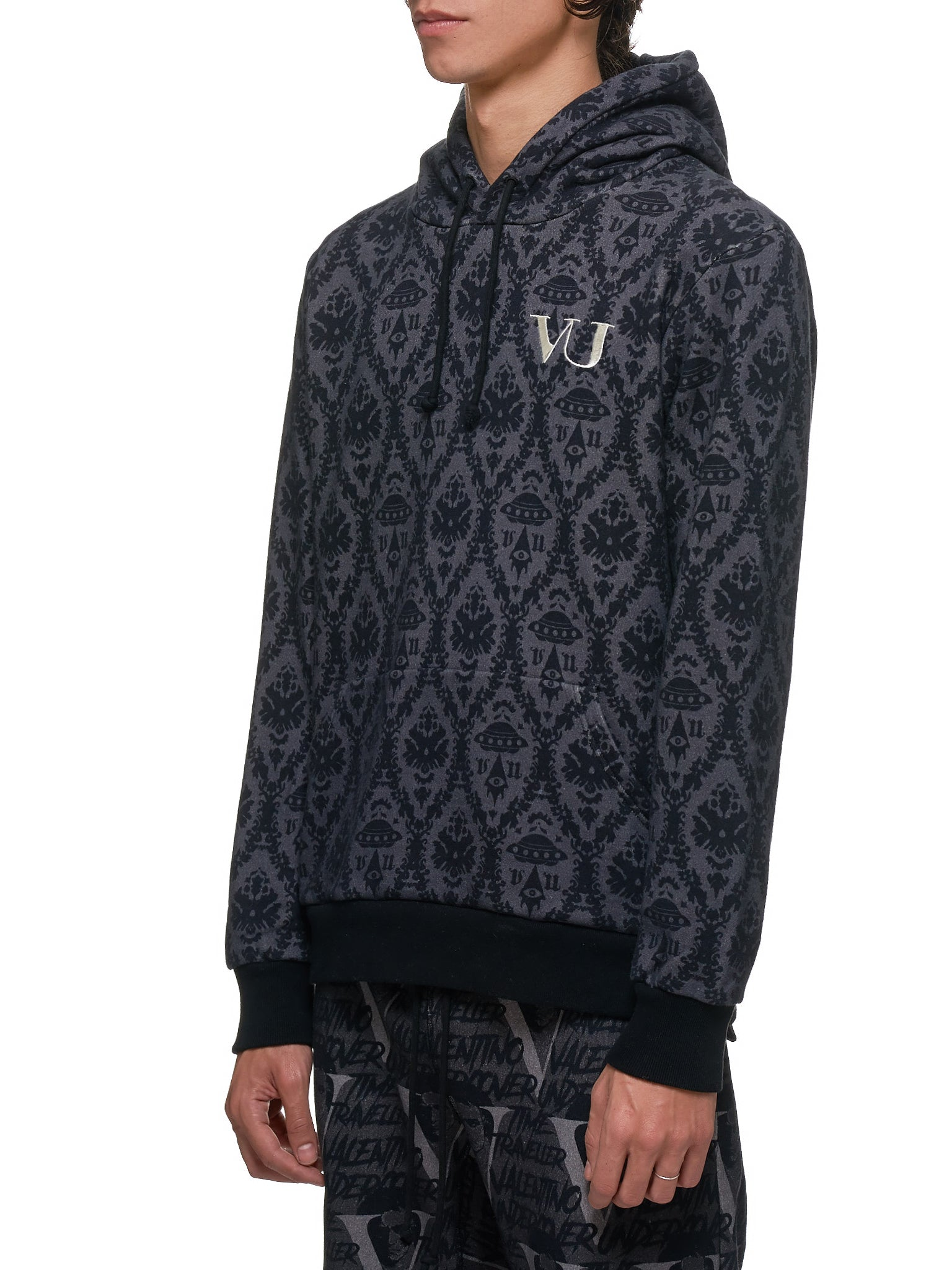 Undercover x Valentino hoodie - Hlorenzo Side