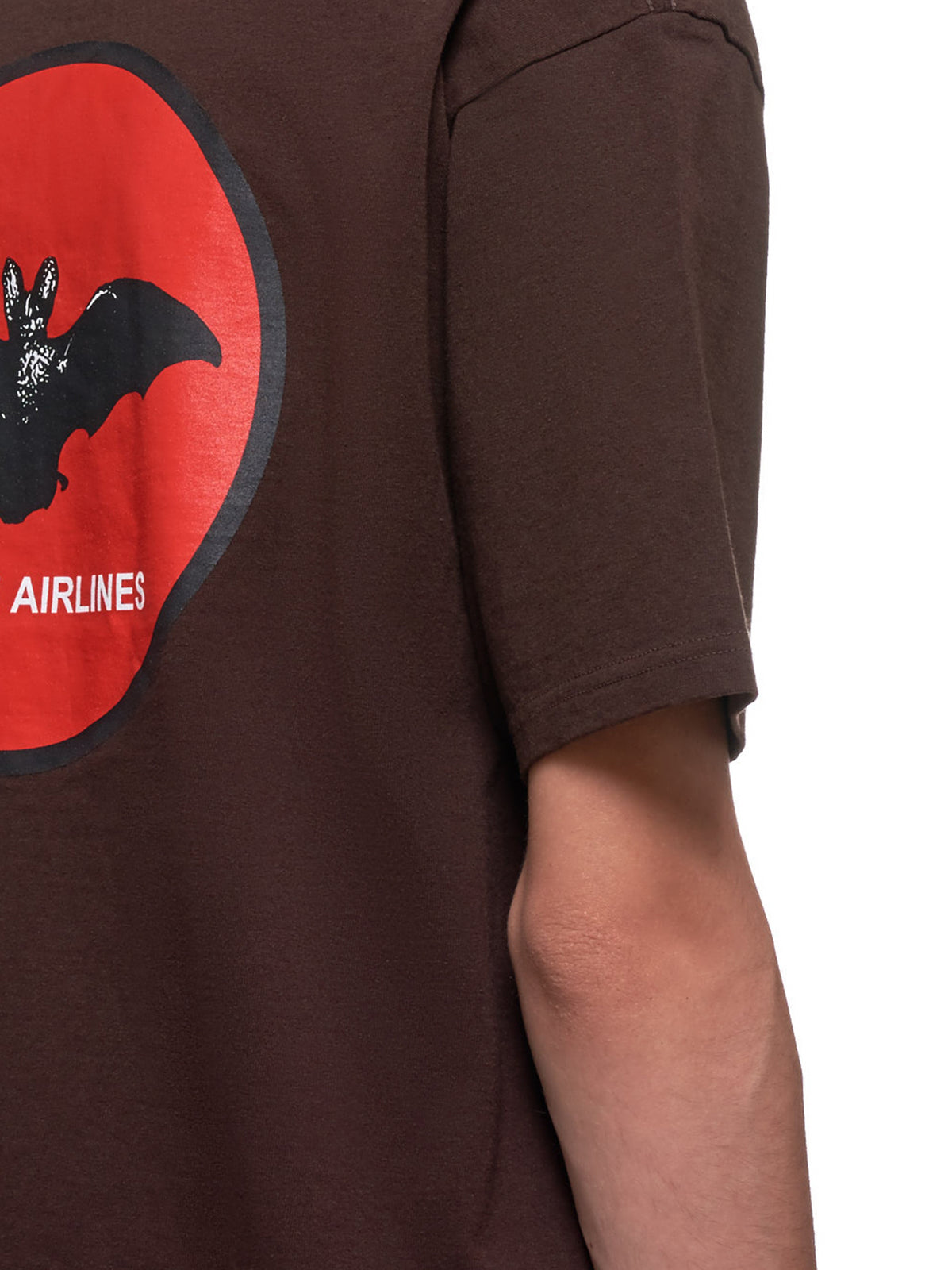Vampire Airlines T-Shirt (UCY3813-BROWN)