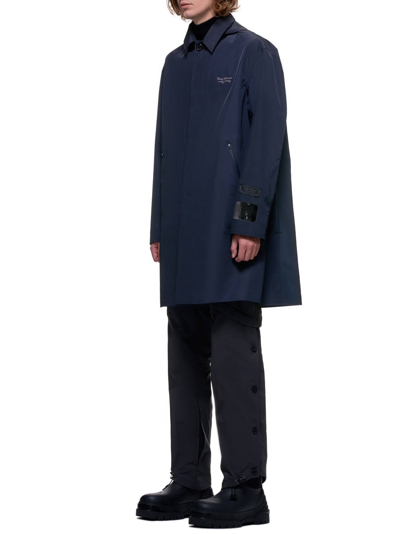 Undercover Coat | H.Lorenzo Side
