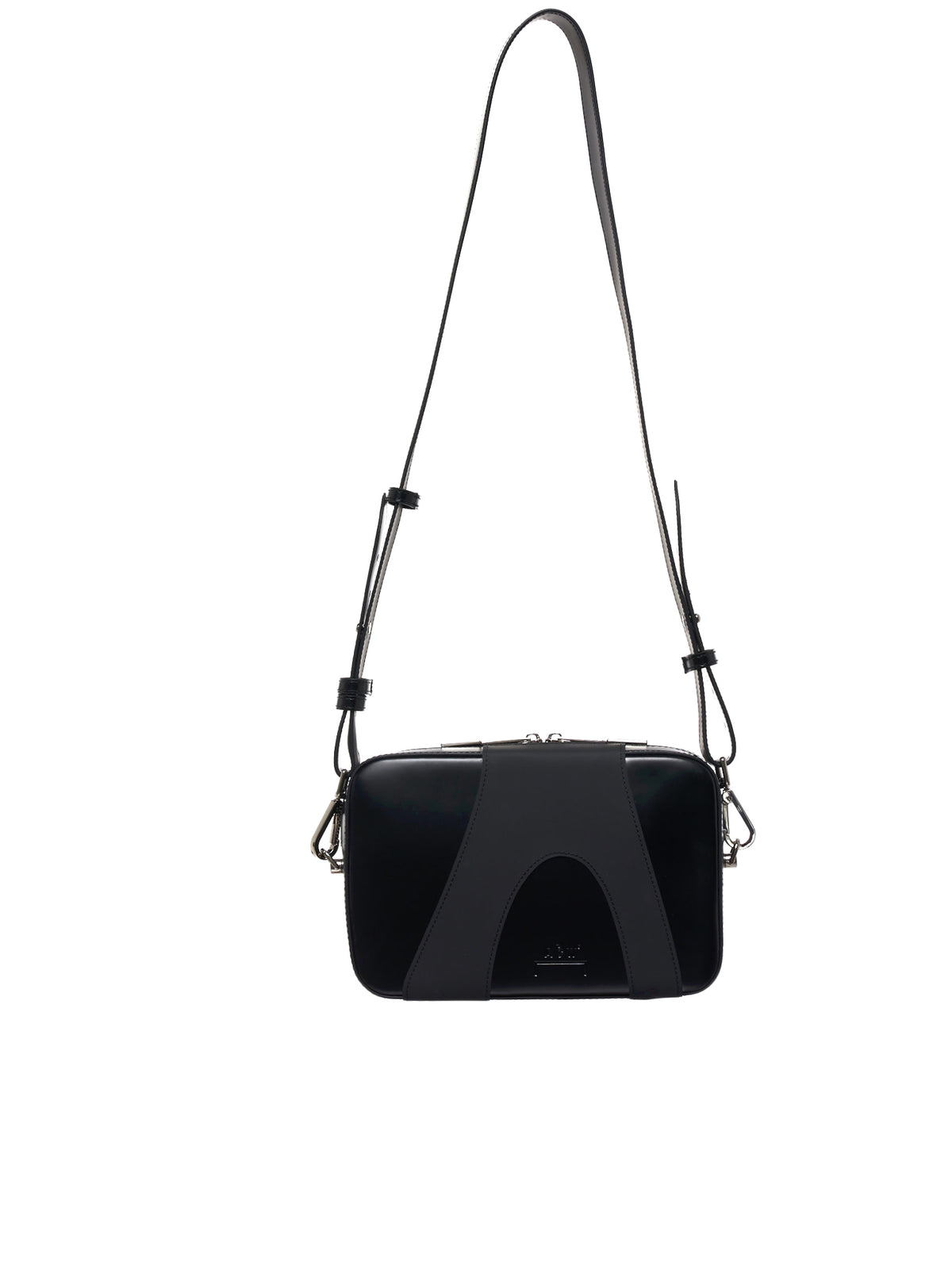 Double Layer Crossbody Bag (UGL001WHLB-BLACK)
