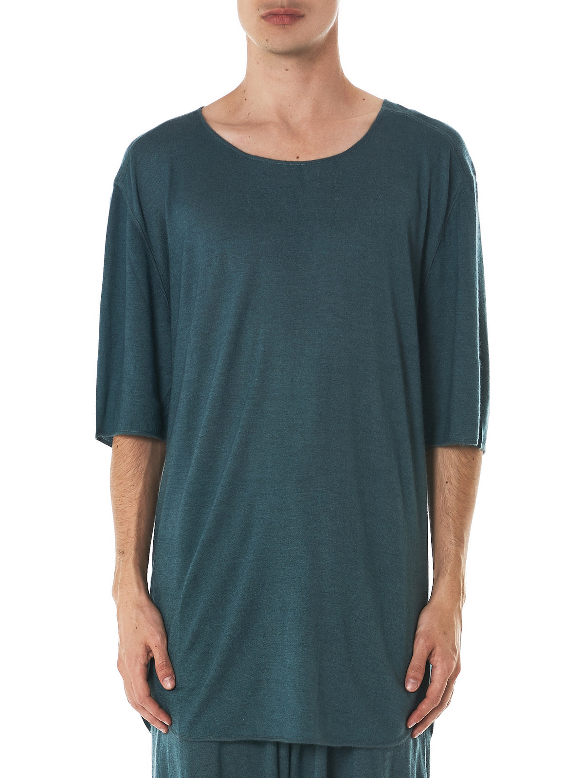 Denis Colomb Cashmere Tee - Hlorenzo front