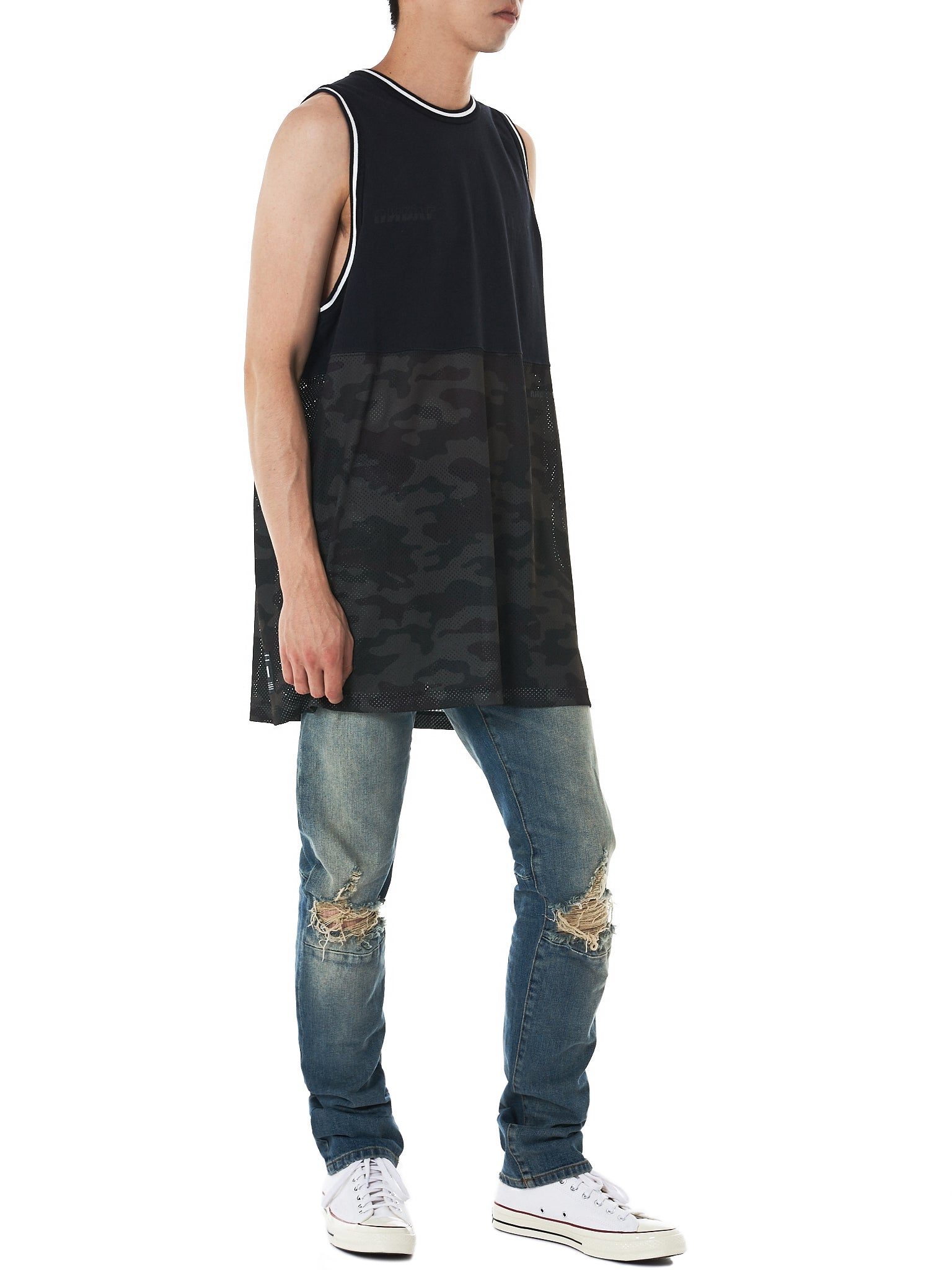 Unravel Distressed Jeans - Hlorenzo Style