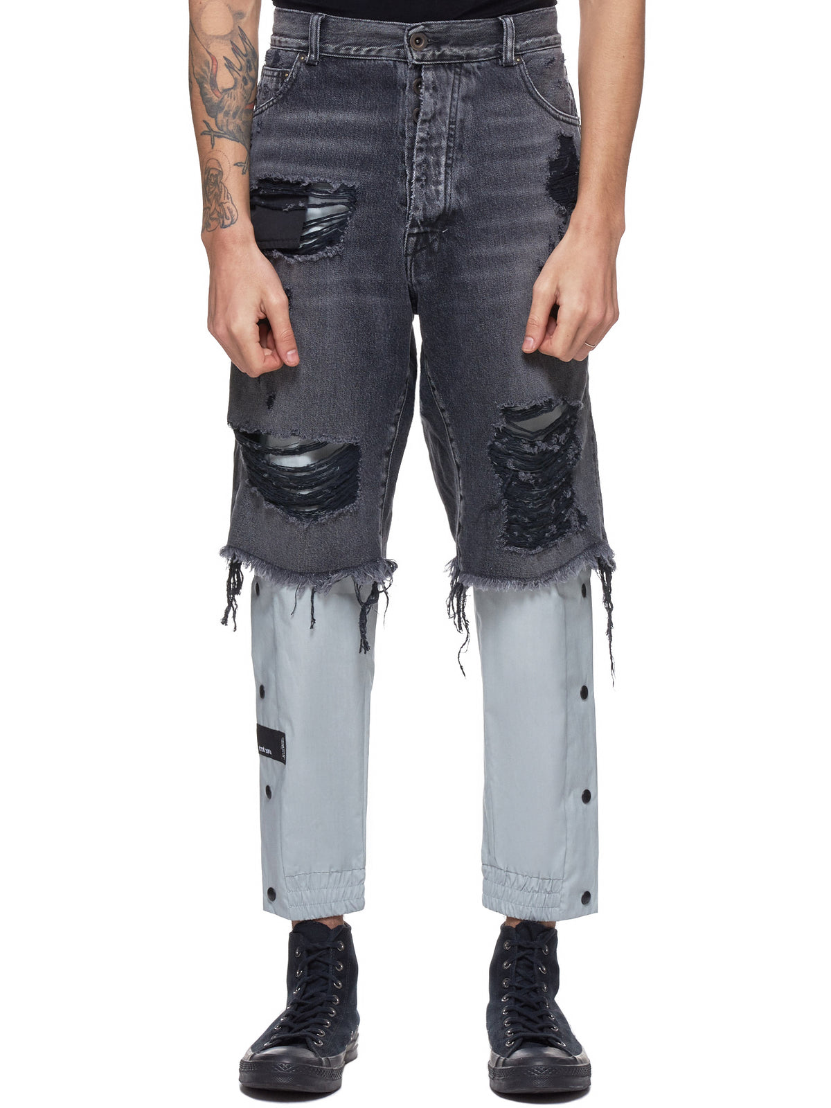 Unravel Stone Jeans - Hlorenzo Front