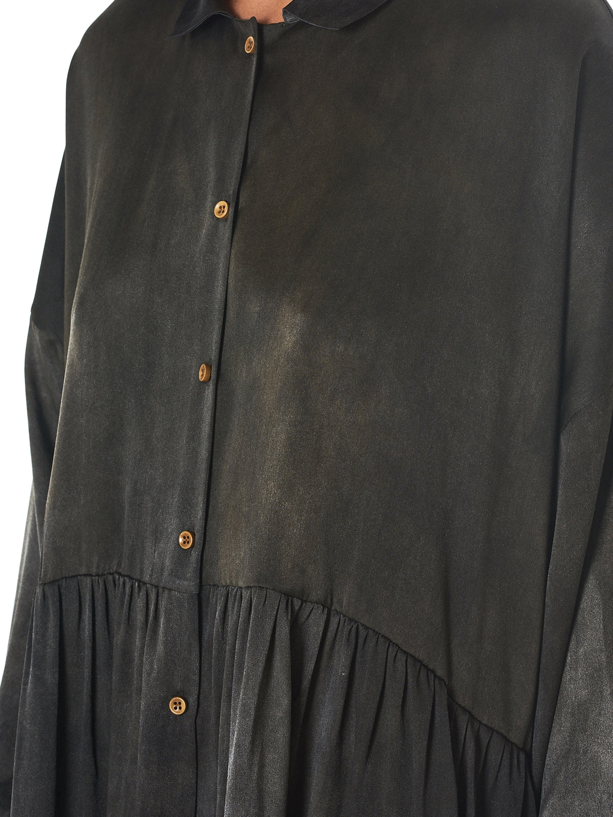 Uma wANG TULA SHIRT DRESS detail