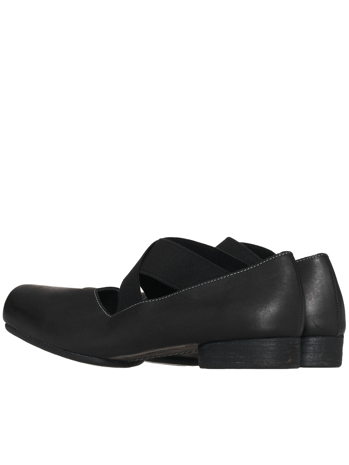 Leather Ballet Shoes (US9001-BLACK)