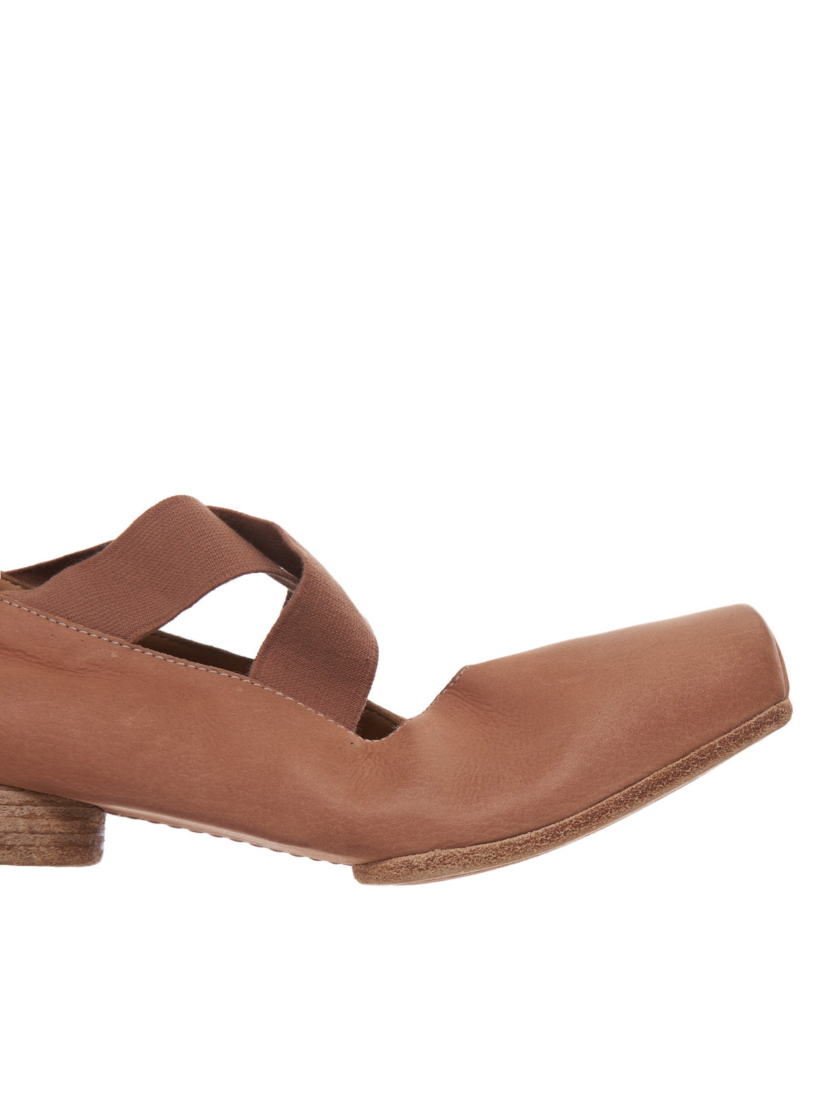 Leather Ballet Shoe (US9004B00P6 ROSE)