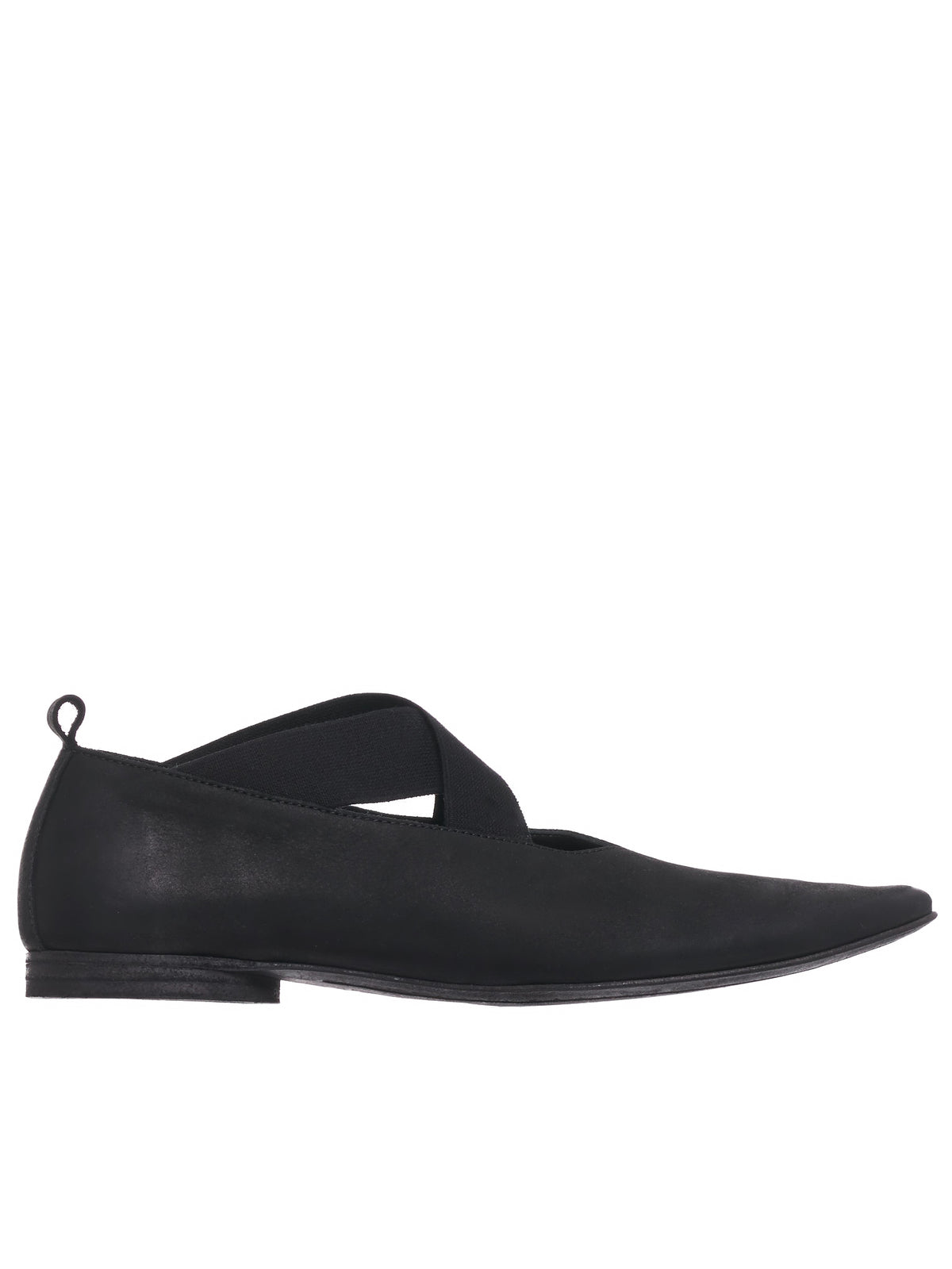 Pointed Ballet Flat (US9011-BLACK)