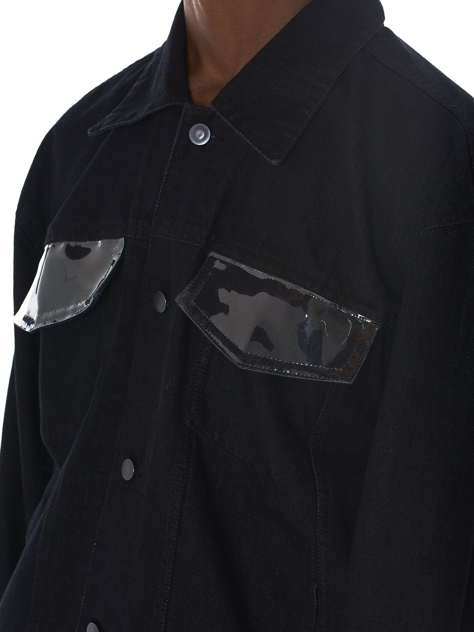 Tourne De Transmission Denim Jacket - HLorenzo Detail 2