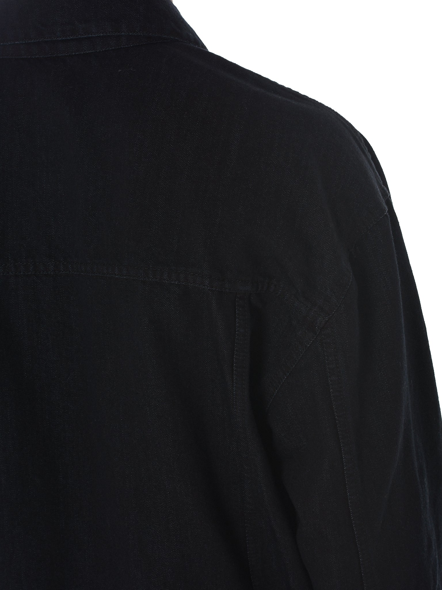 Tourne De Transmission Denim Jacket - HLorenzo Detail 3